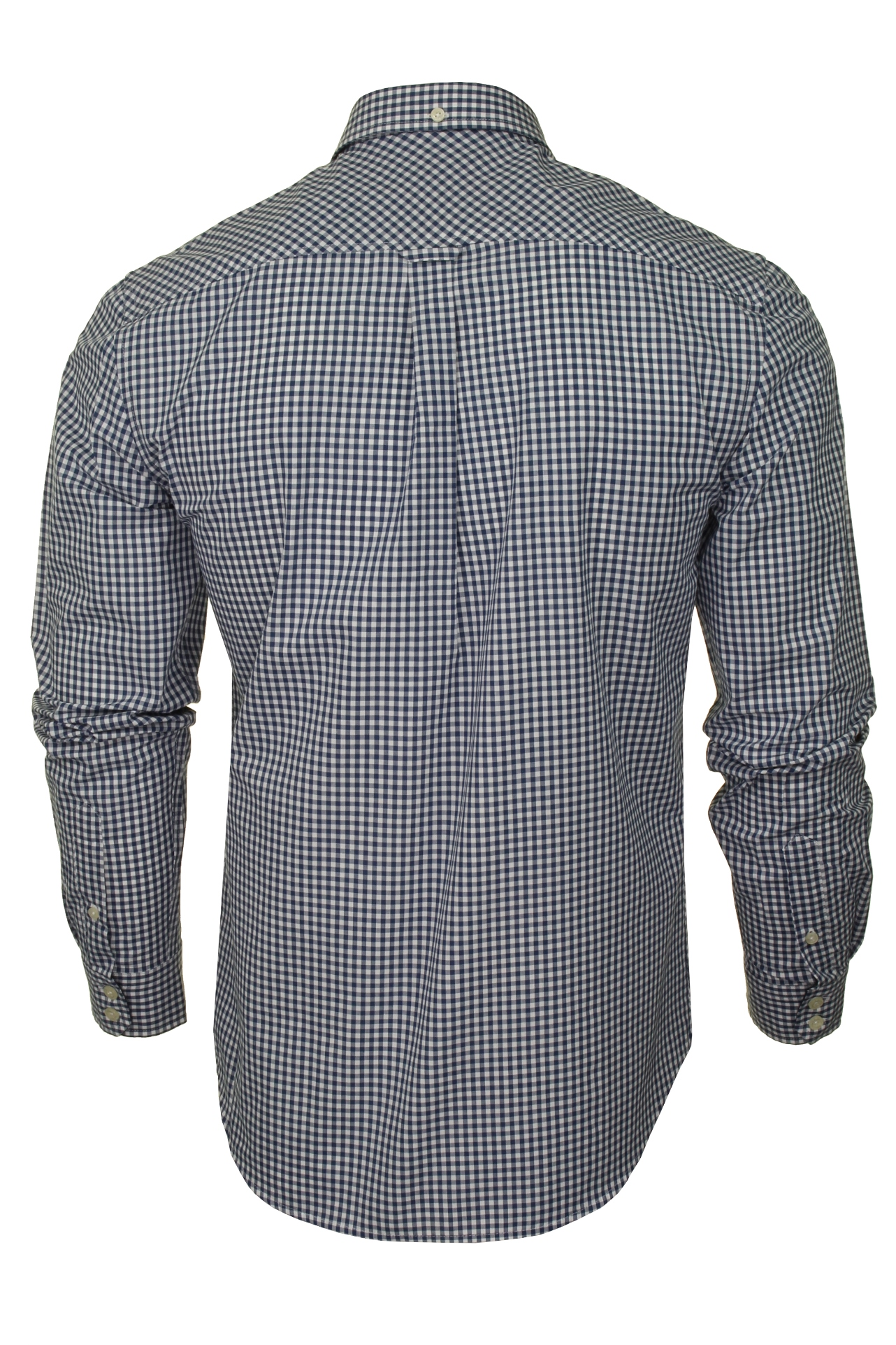 Ben-Sherman-Mens-Long-Sleeved-Gingham-Check-Shirt thumbnail 5