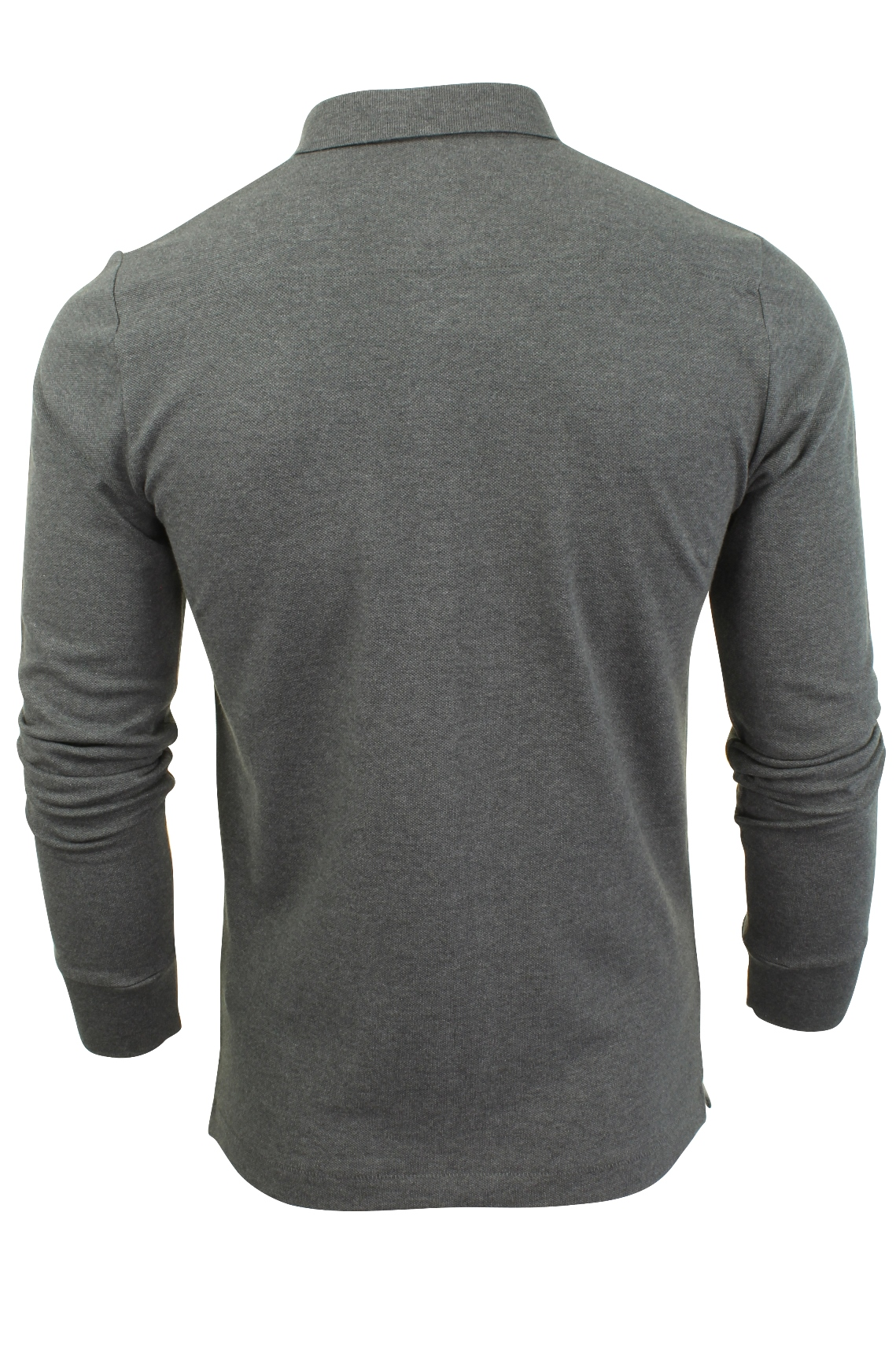Mens-Polo-T-Shirt-by-FCUK-French-Connection-Long-Sleeved thumbnail 5