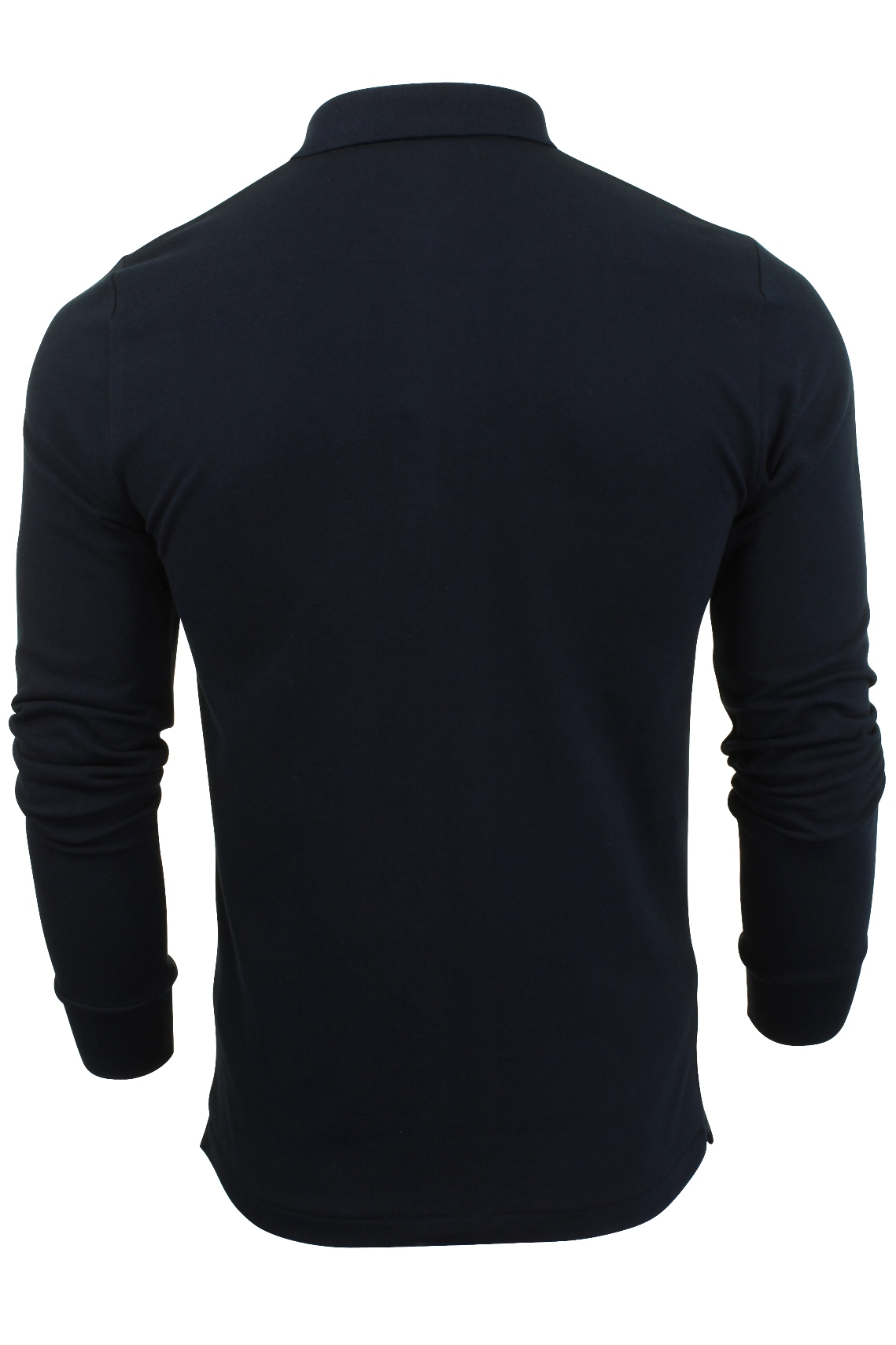 Mens-Polo-T-Shirt-by-FCUK-French-Connection-Long-Sleeved thumbnail 8