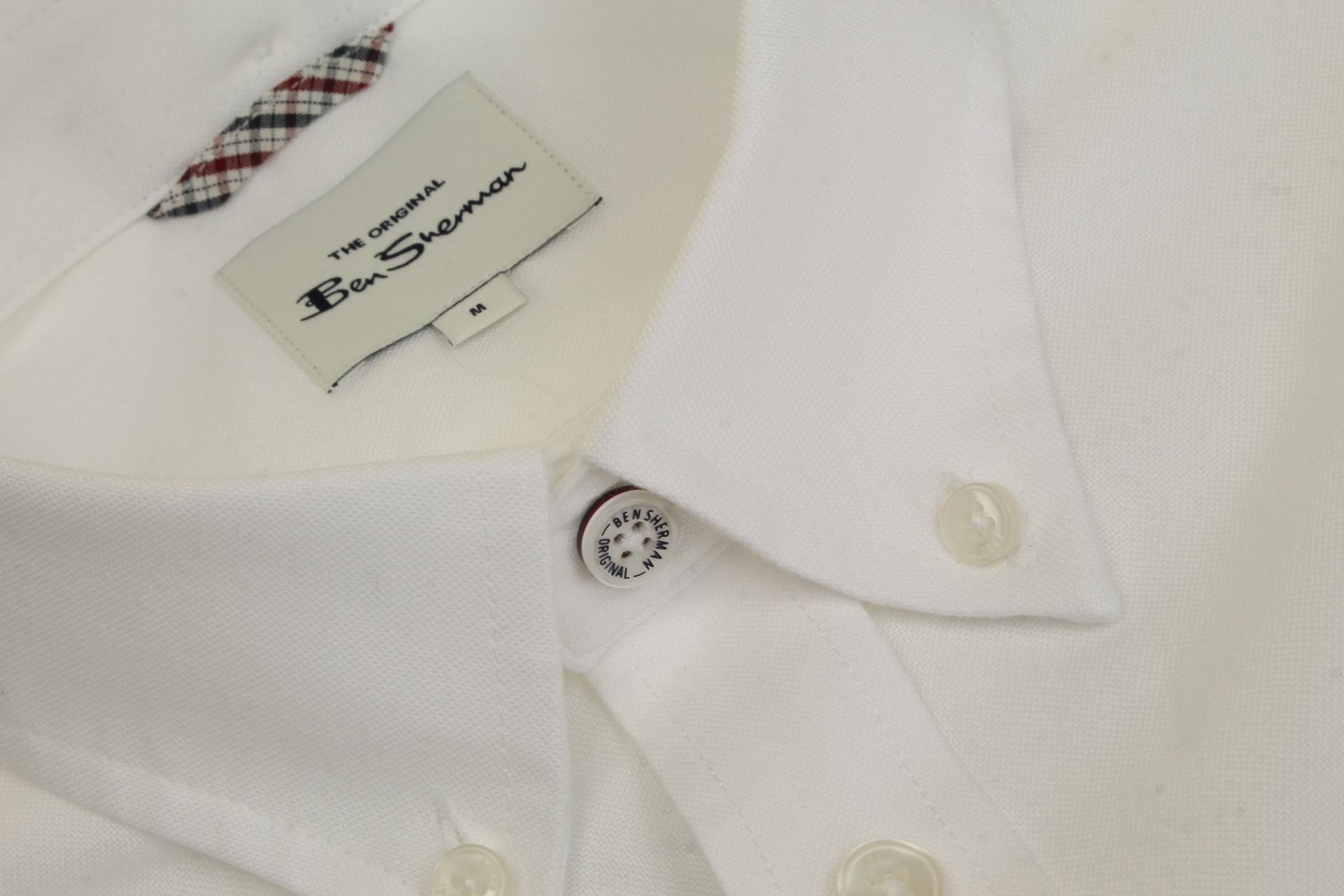 Mens-Oxford-Shirt-by-Ben-Sherman-Long-Sleeved thumbnail 46