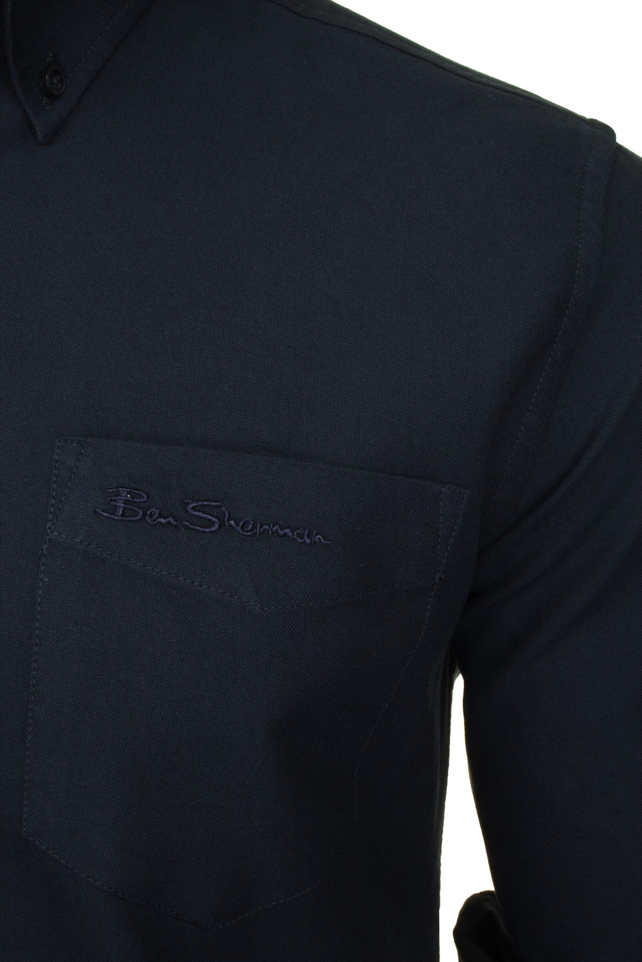 Mens-Oxford-Shirt-by-Ben-Sherman-Long-Sleeved thumbnail 17