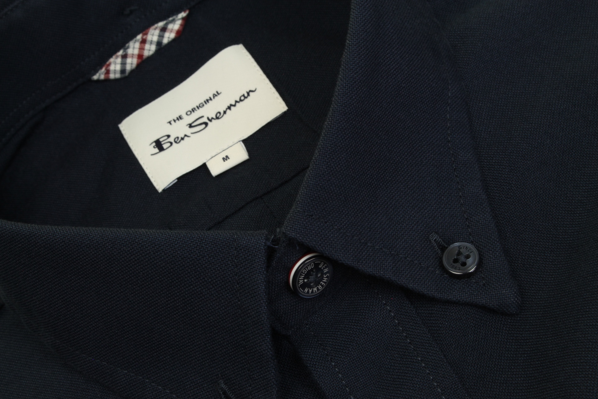 Mens-Oxford-Shirt-by-Ben-Sherman-Long-Sleeved thumbnail 18