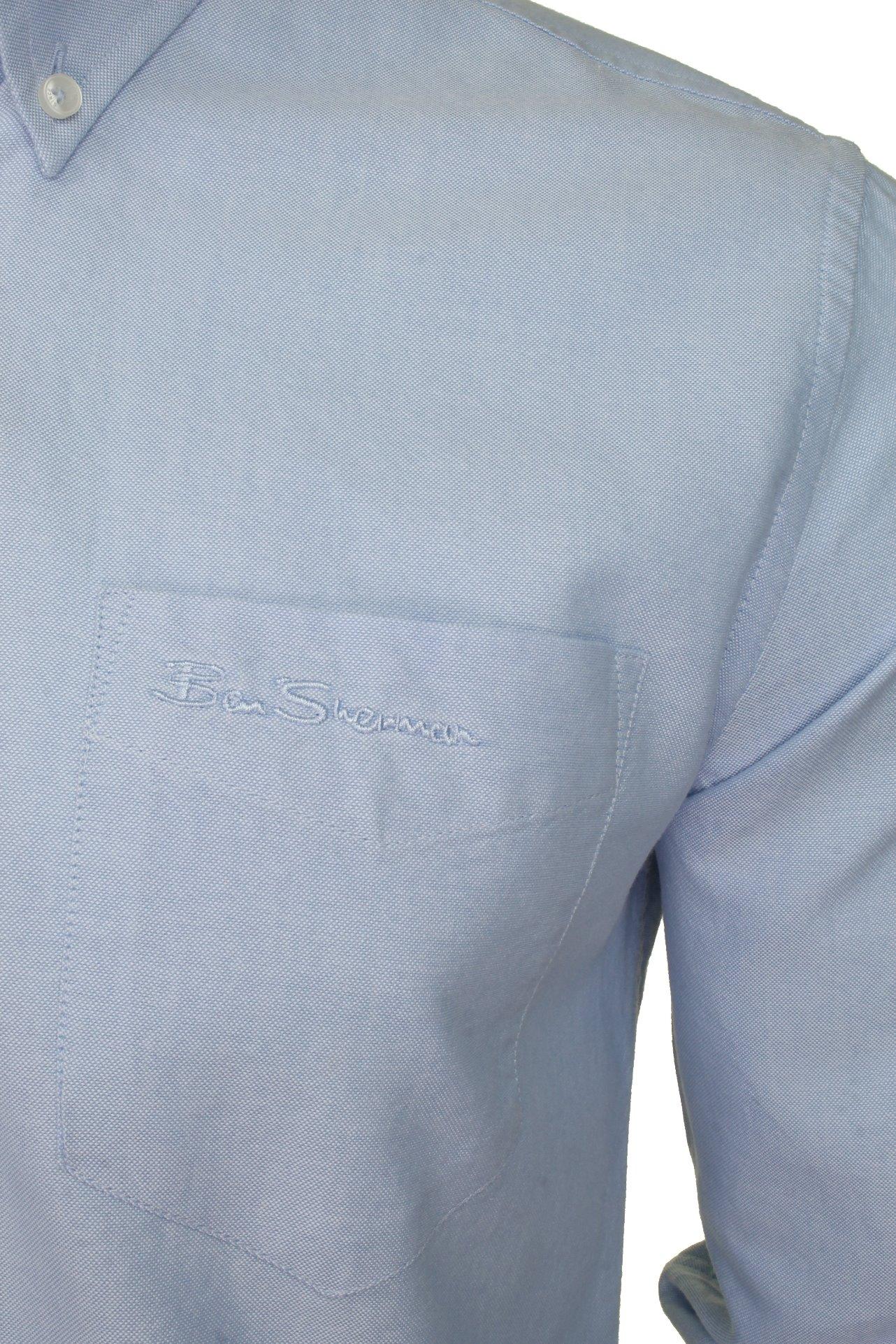 Mens-Oxford-Shirt-by-Ben-Sherman-Long-Sleeved thumbnail 33
