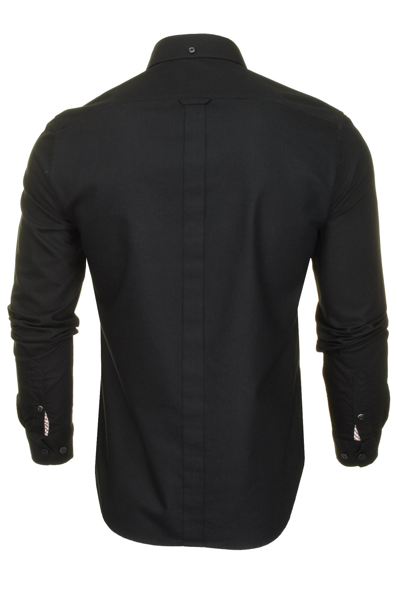 Mens-Oxford-Shirt-by-Ben-Sherman-Long-Sleeved thumbnail 8