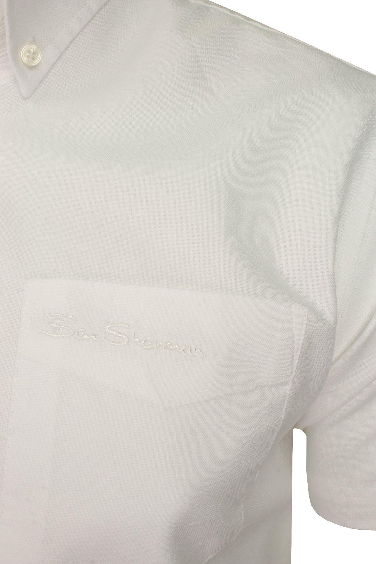 Ben-Sherman-Da-Uomo-Camicia-Oxford-Manica-Corta miniatura 45