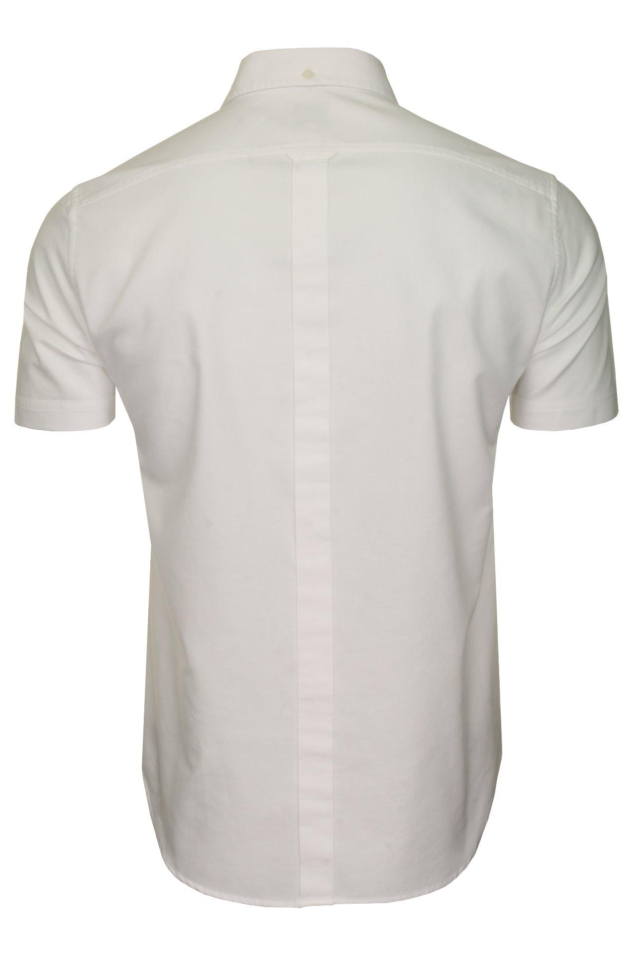 Ben-Sherman-Da-Uomo-Camicia-Oxford-Manica-Corta miniatura 46