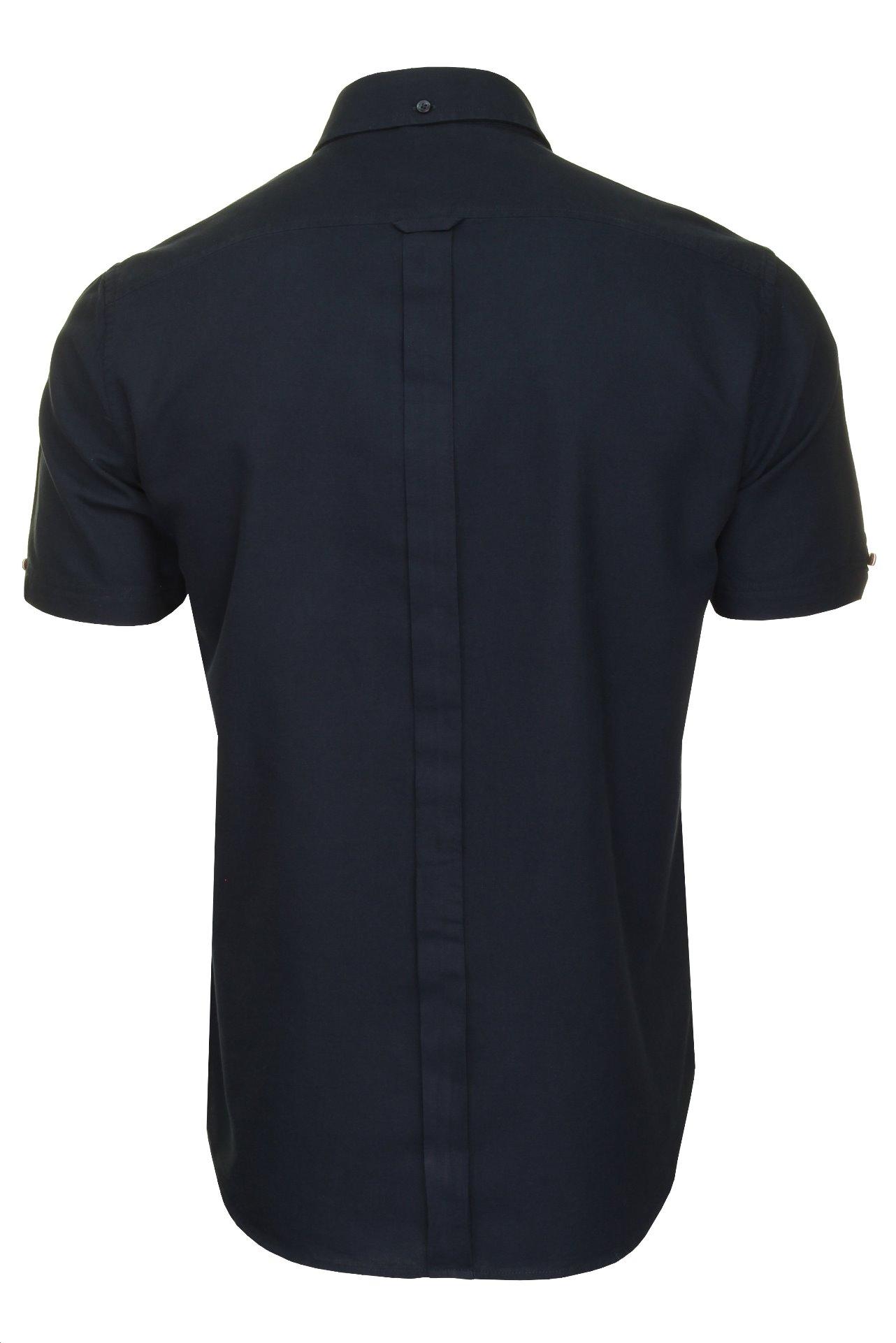 Ben-Sherman-Da-Uomo-Camicia-Oxford-Manica-Corta miniatura 18
