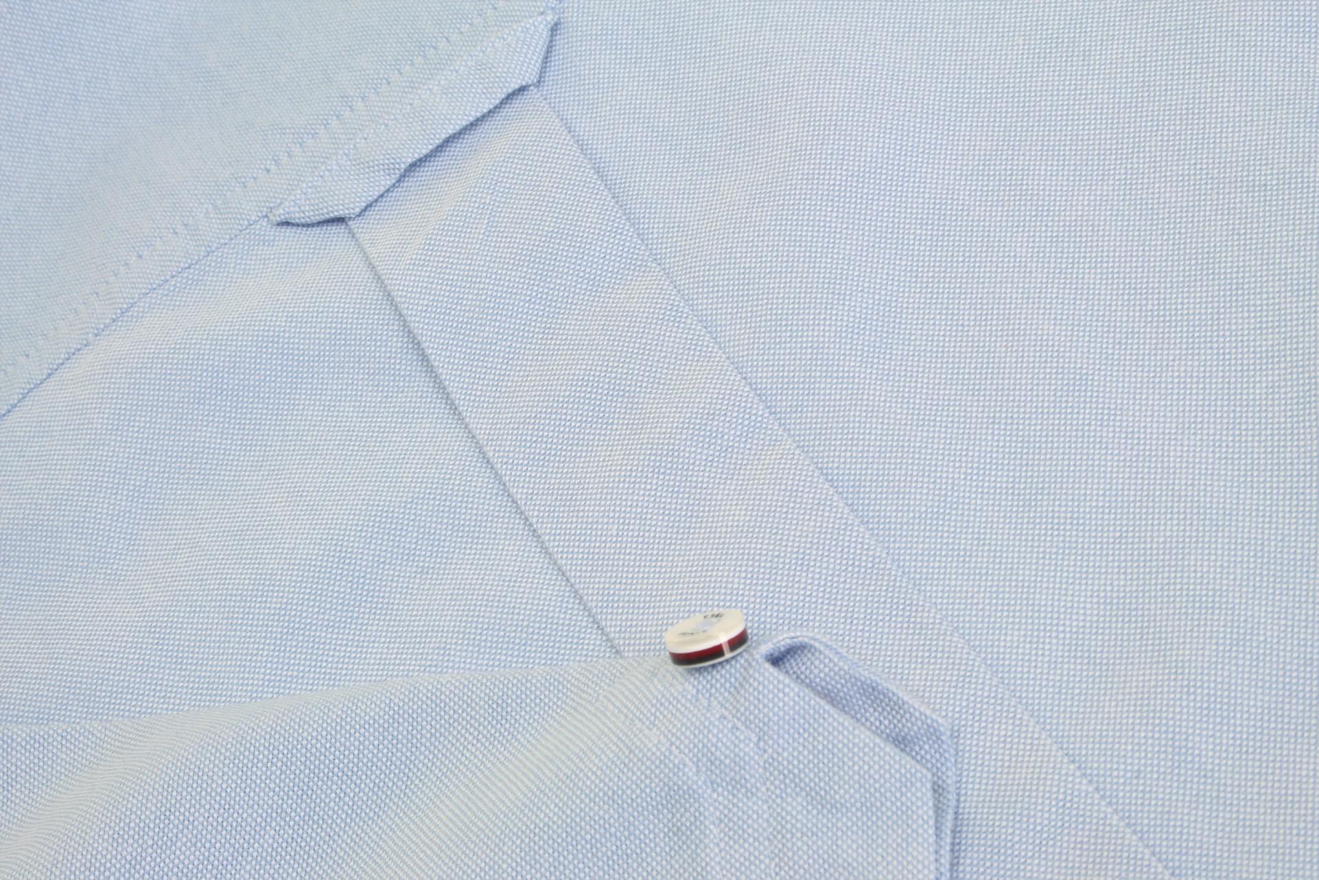 Ben-Sherman-Da-Uomo-Camicia-Oxford-Manica-Corta miniatura 37