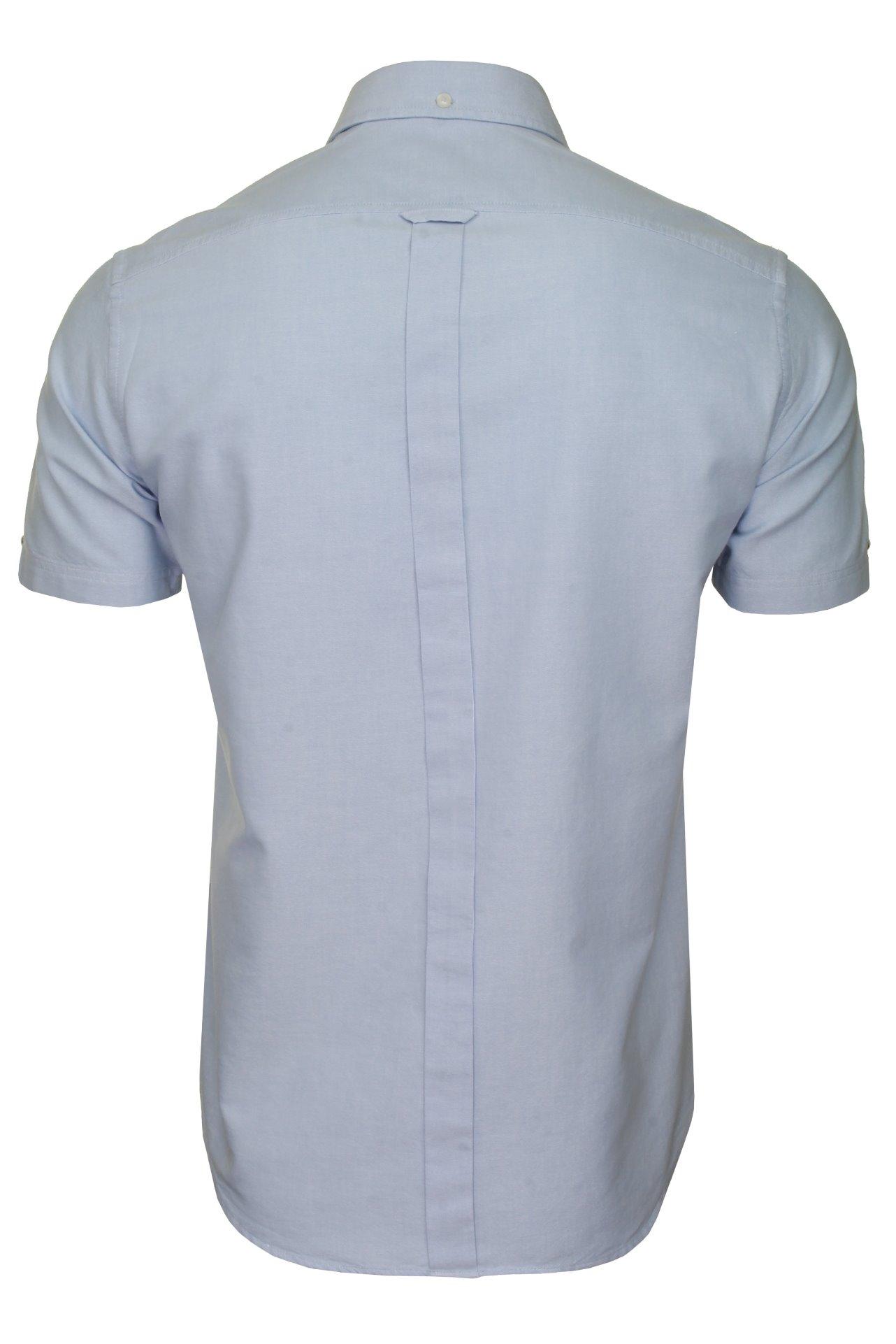 Ben-Sherman-Mens-Oxford-Shirt-Short-Sleeve thumbnail 35
