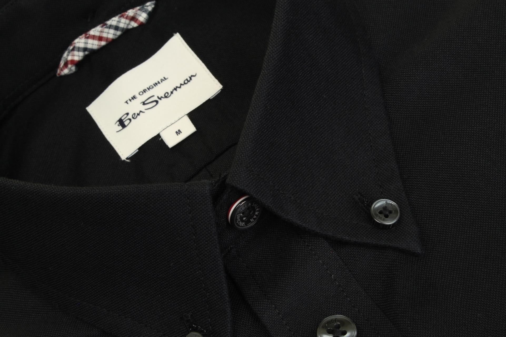 Ben-Sherman-Da-Uomo-Camicia-Oxford-Manica-Corta miniatura 9