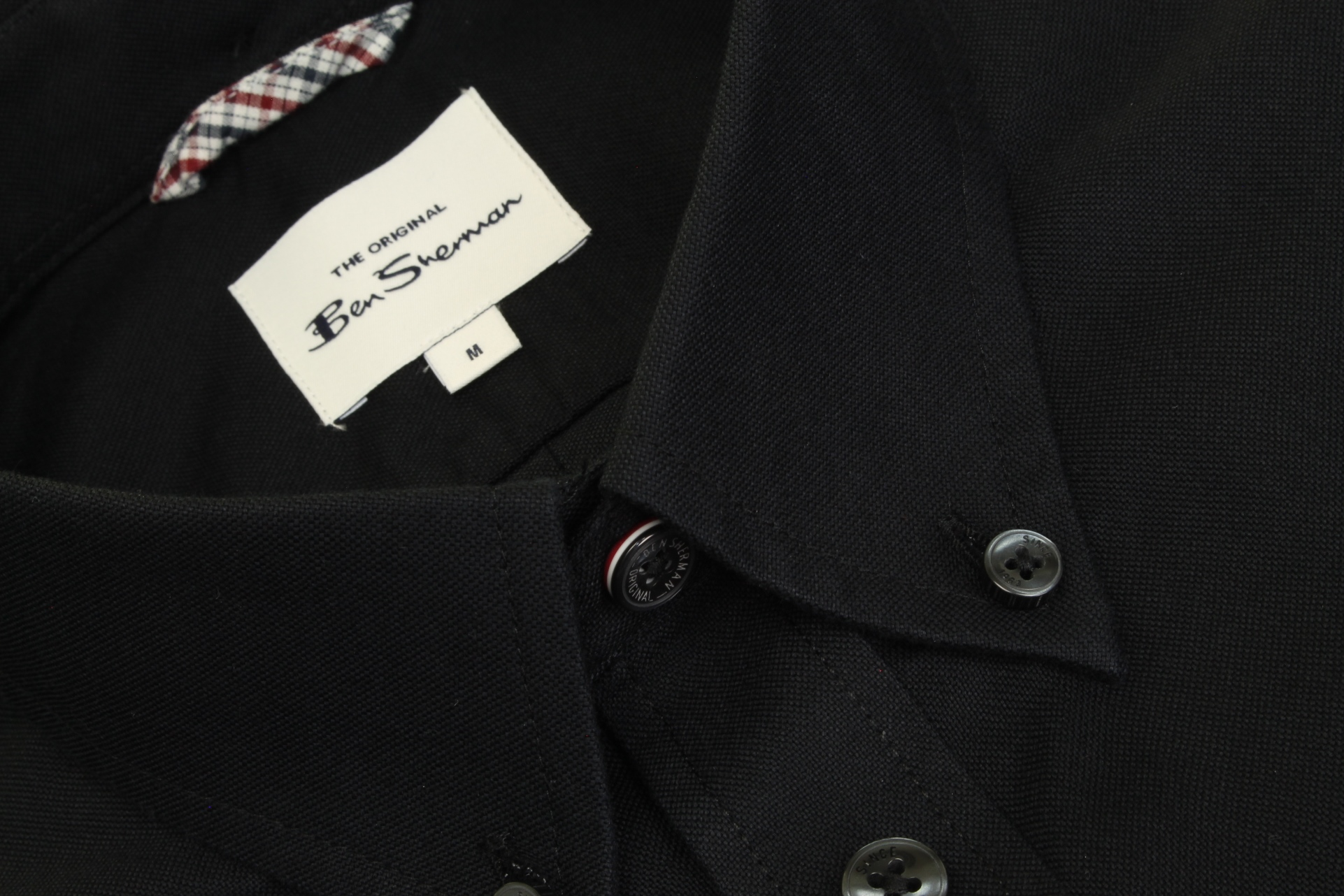 Ben-Sherman-Mens-Oxford-Shirt-Short-Sleeve thumbnail 9
