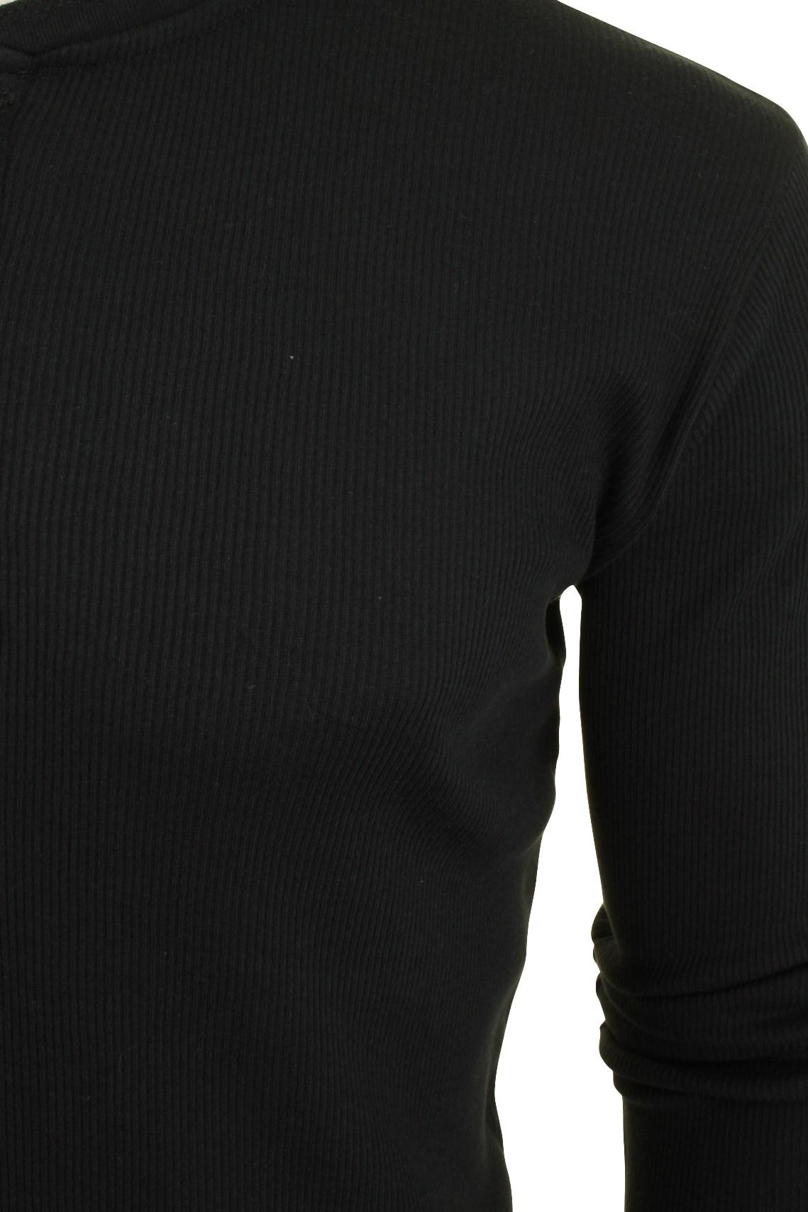 Levi-039-s-Homme-Grandad-039-300LS-Henley-039-Rib-T-shirt-a-manches-longues miniature 5
