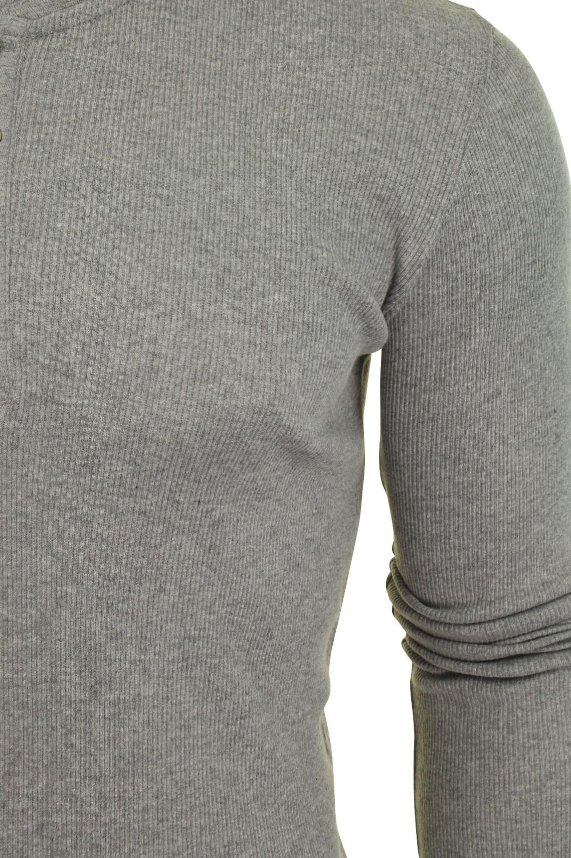 Levi-039-s-Homme-Grandad-039-300LS-Henley-039-Rib-T-shirt-a-manches-longues miniature 8