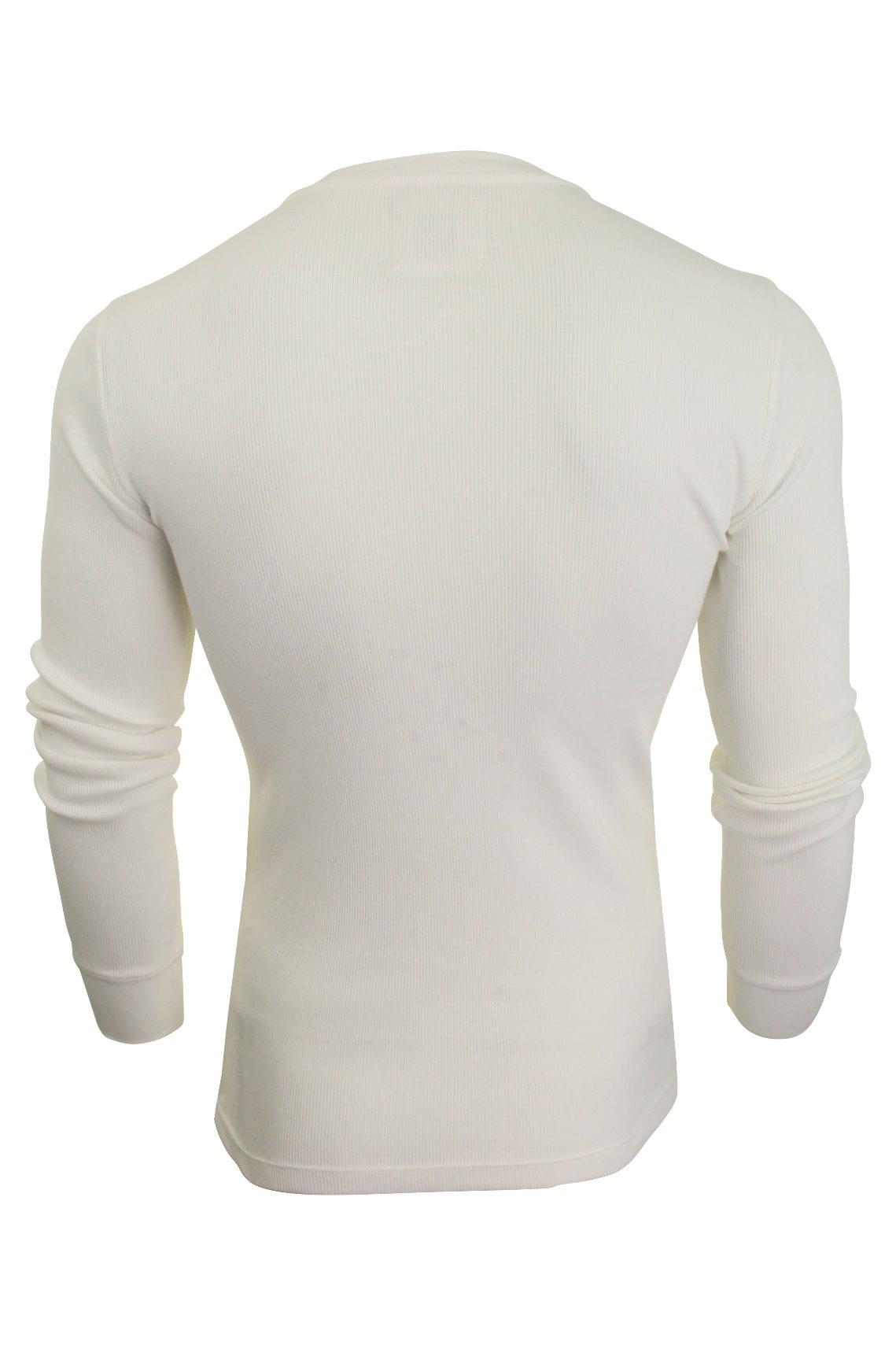 Levi-039-s-Homme-Grandad-039-300LS-Henley-039-Rib-T-shirt-a-manches-longues miniature 12
