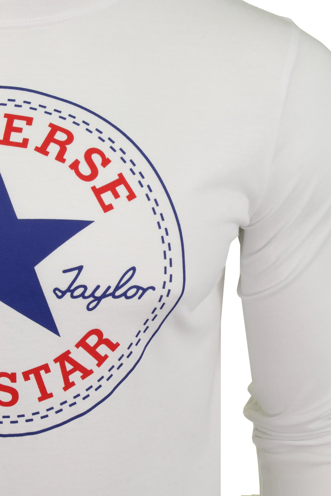 46b3c8588f8af7 Boys Converse  All Star  Long Sleeved T-Shirt