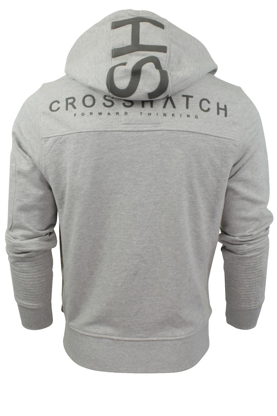 Mens-Hoodie-Jumper-by-Crosshatch-039-Goby-039-Long-Sleeved