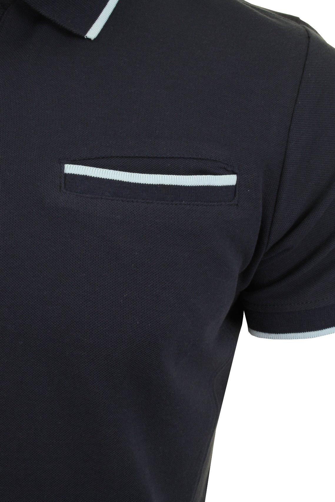 Camisa-Polo-Para-Hombre-Crosshatch-son-sernate-039-Manga-Corta miniatura 7
