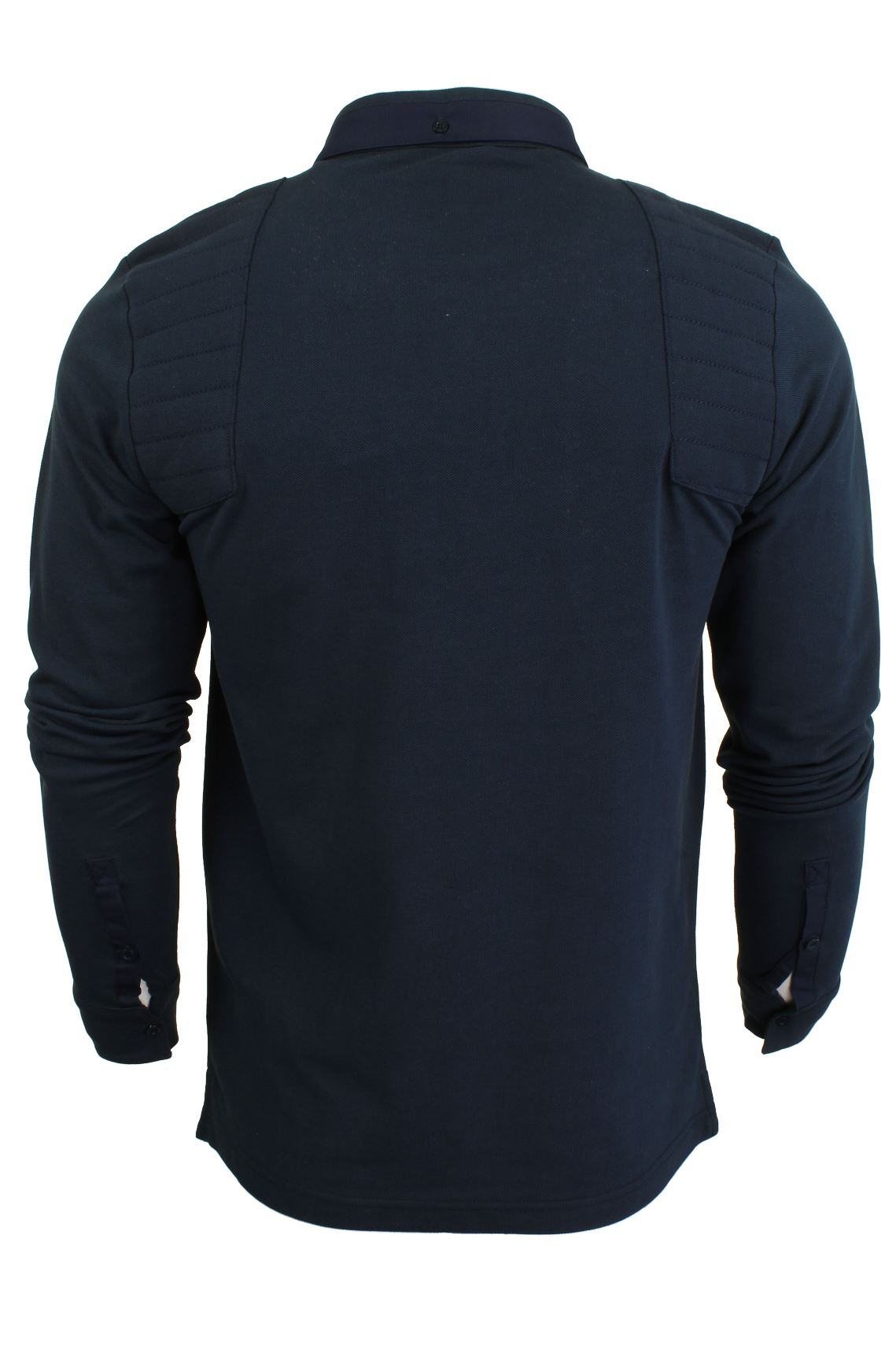Mens-Short-Sleeved-Polo-Shirt-from-the-Blackout-Collection-by-Voi-Jeans thumbnail 4
