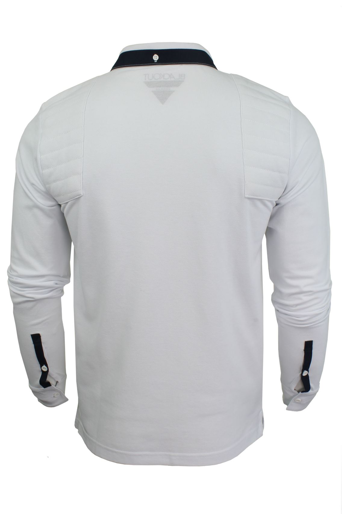 Mens-Short-Sleeved-Polo-Shirt-from-the-Blackout-Collection-by-Voi-Jeans thumbnail 7