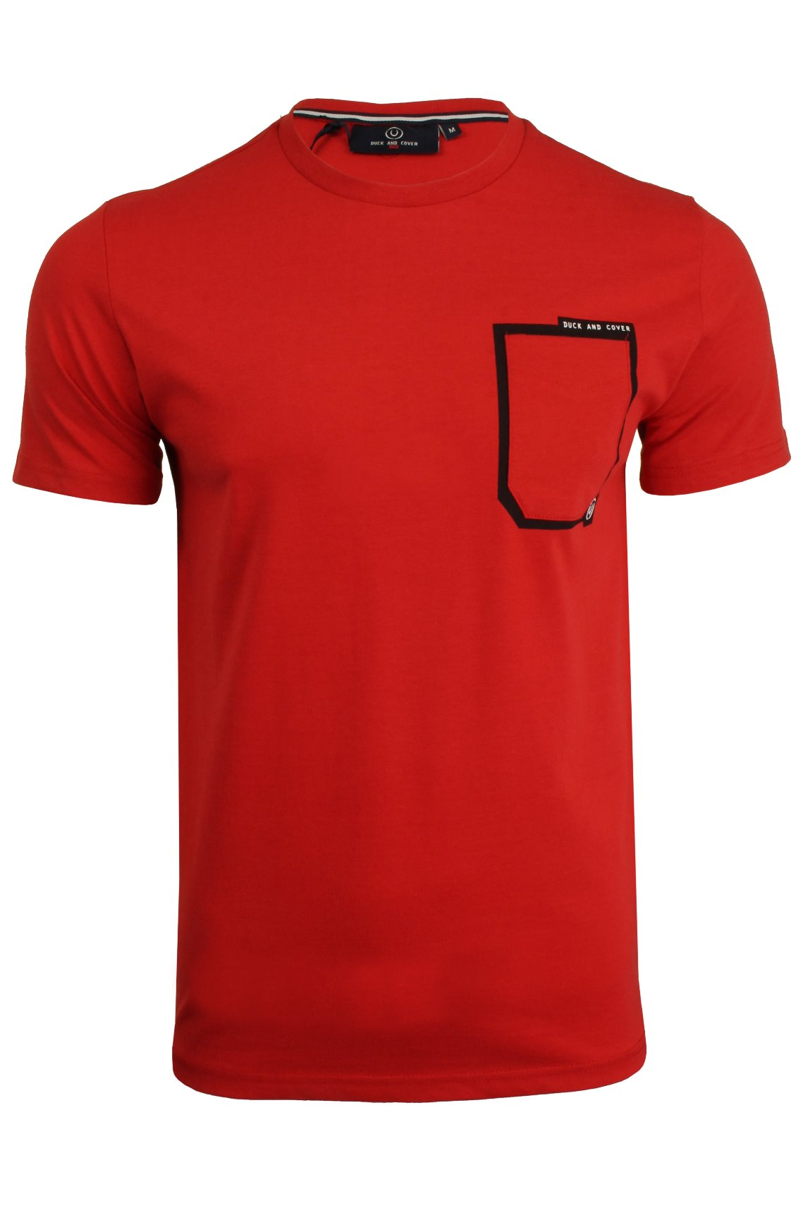 Mens-Duck-and-Cover-T-Shirt-039-Pulsed-039-Short-Sleeved