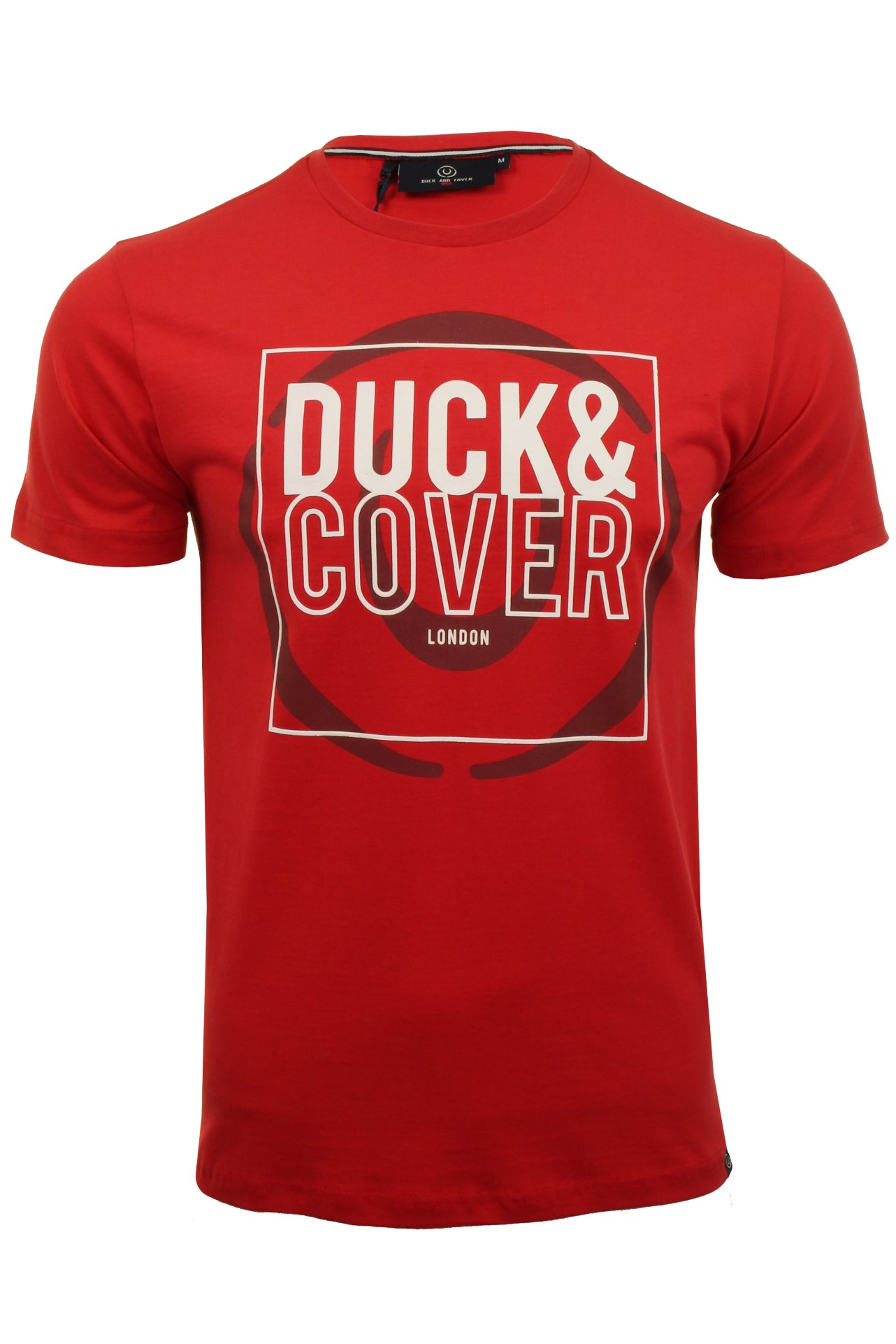 Duck-and-Cover-Mens-039-Midas-039-T-Shirt