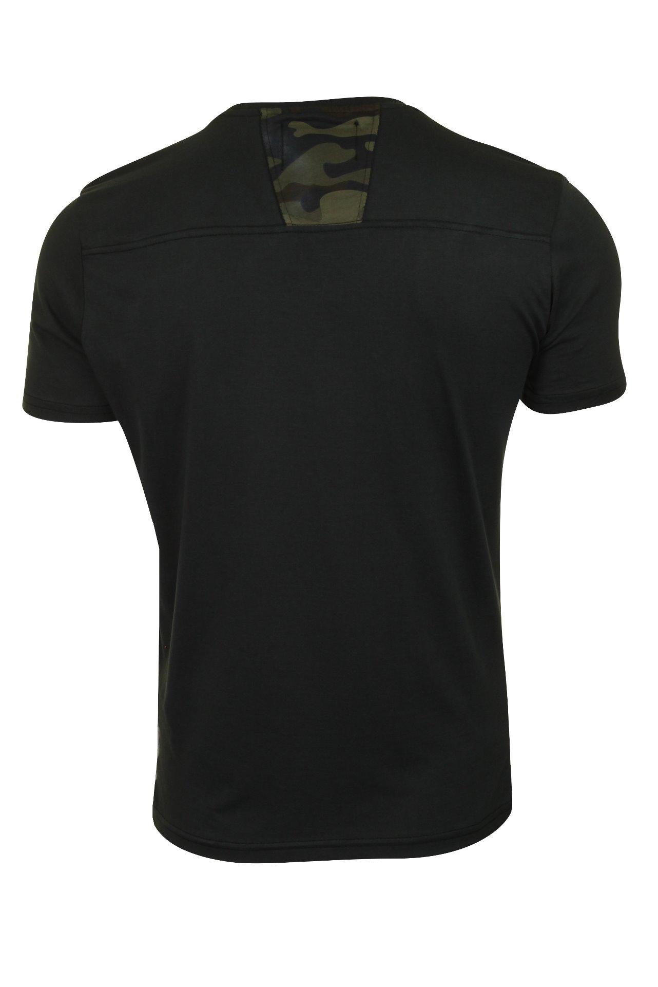 Duck-and-Cover-Hombre-Camiseta-039-Balzar-039 miniatura 5
