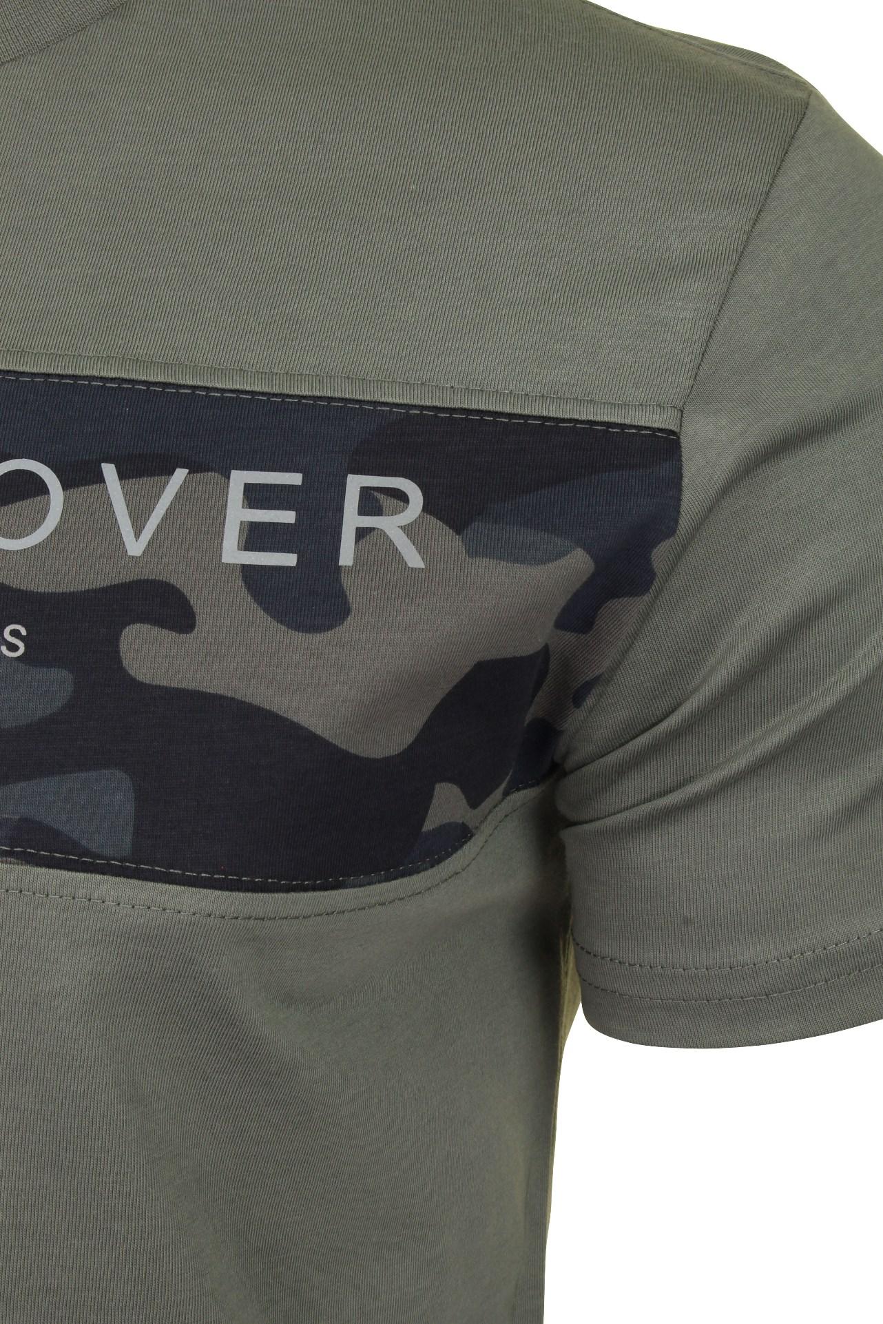 Duck-and-Cover-Hombre-Camiseta-039-Balzar-039 miniatura 7