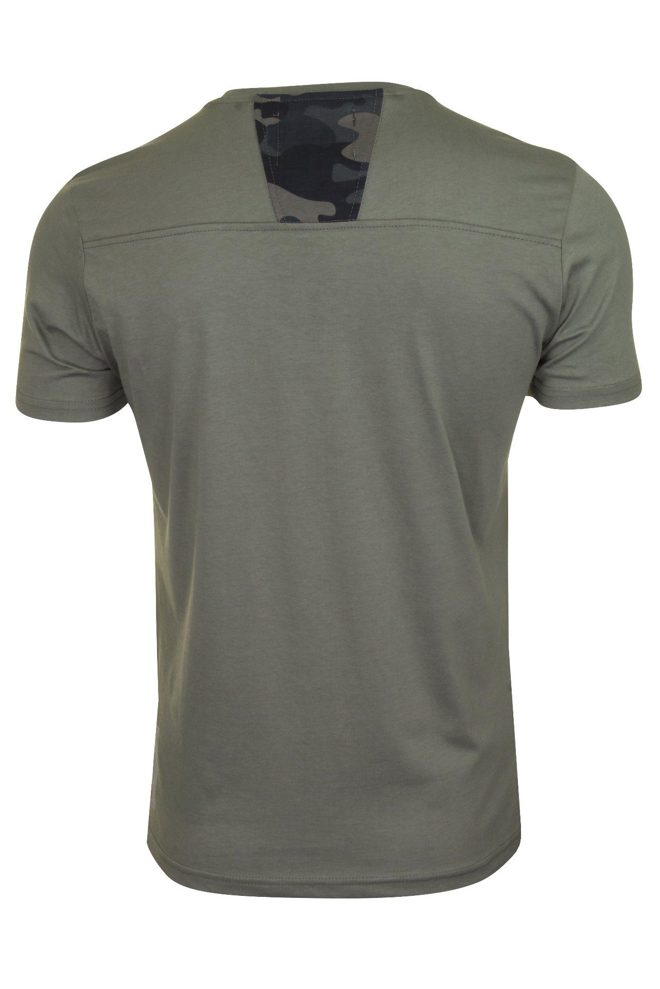Duck-and-Cover-Hombre-Camiseta-039-Balzar-039 miniatura 8