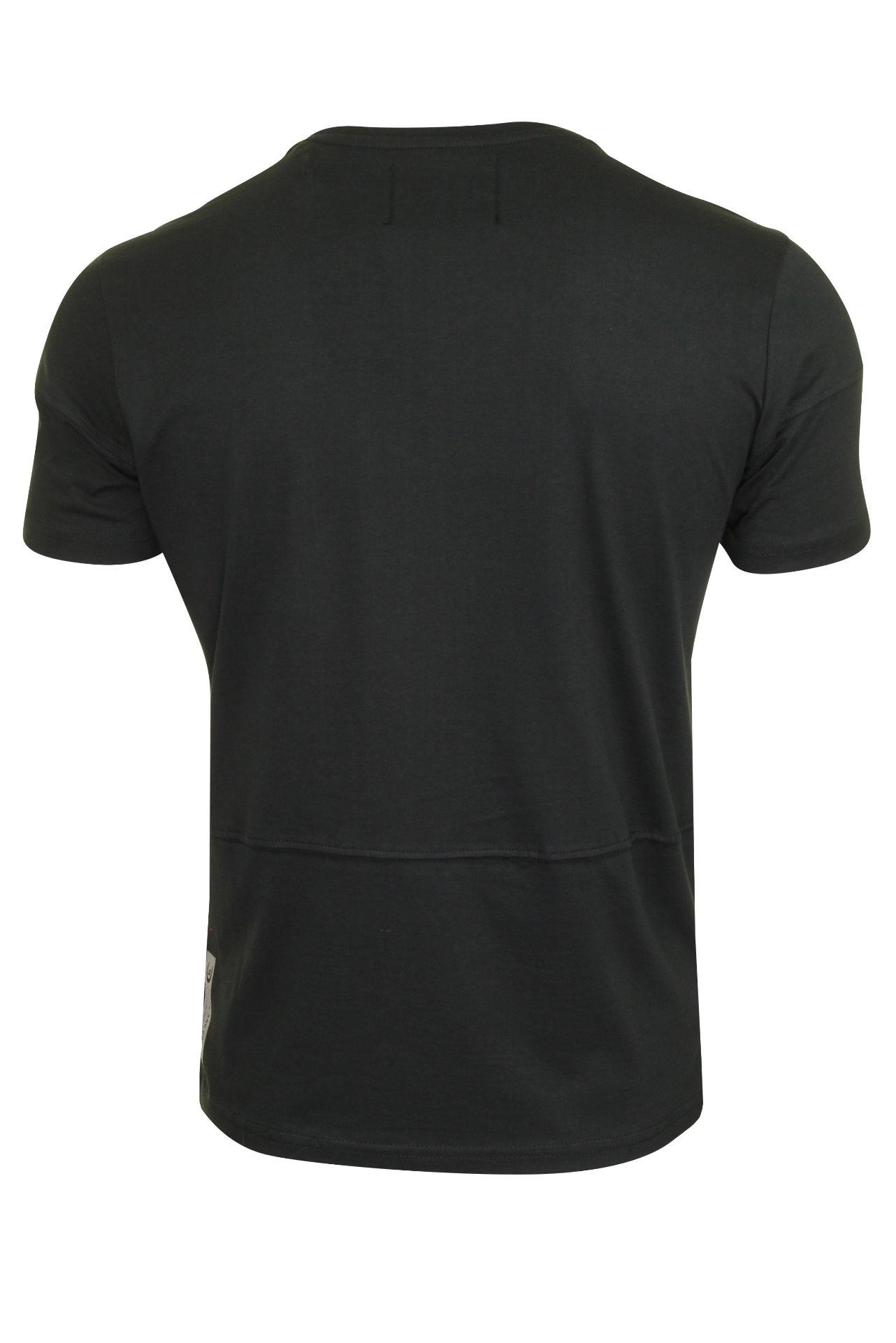 Duck-and-Cover-Hombre-Camiseta-039-crosdale-039 miniatura 5