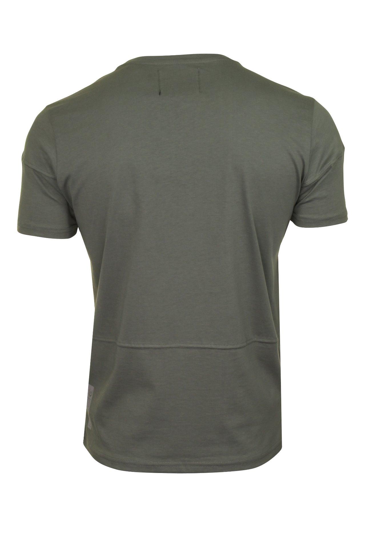 Duck-and-Cover-Hombre-Camiseta-039-crosdale-039 miniatura 8