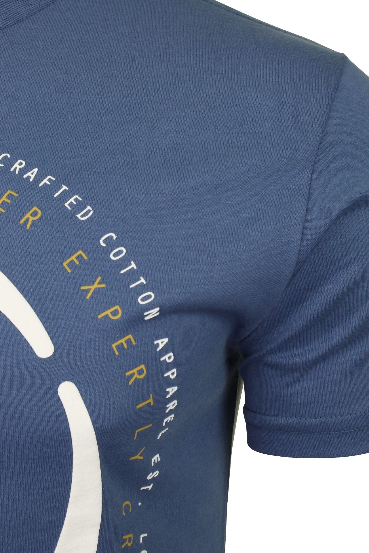 Duck-and-Cover-Hombre-Camiseta-039-Denzel-039 miniatura 4