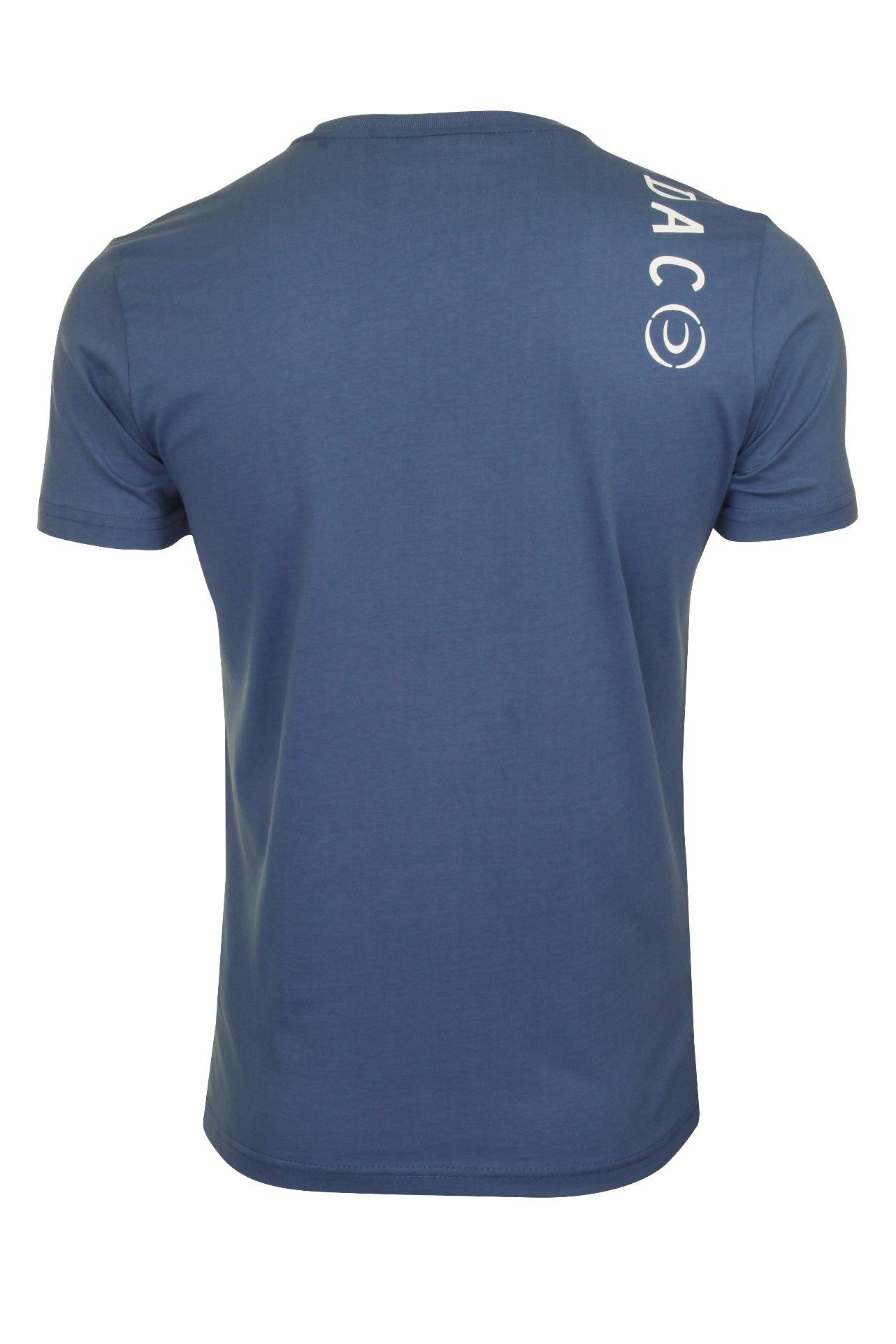 Duck-and-Cover-Hombre-Camiseta-039-Denzel-039 miniatura 5