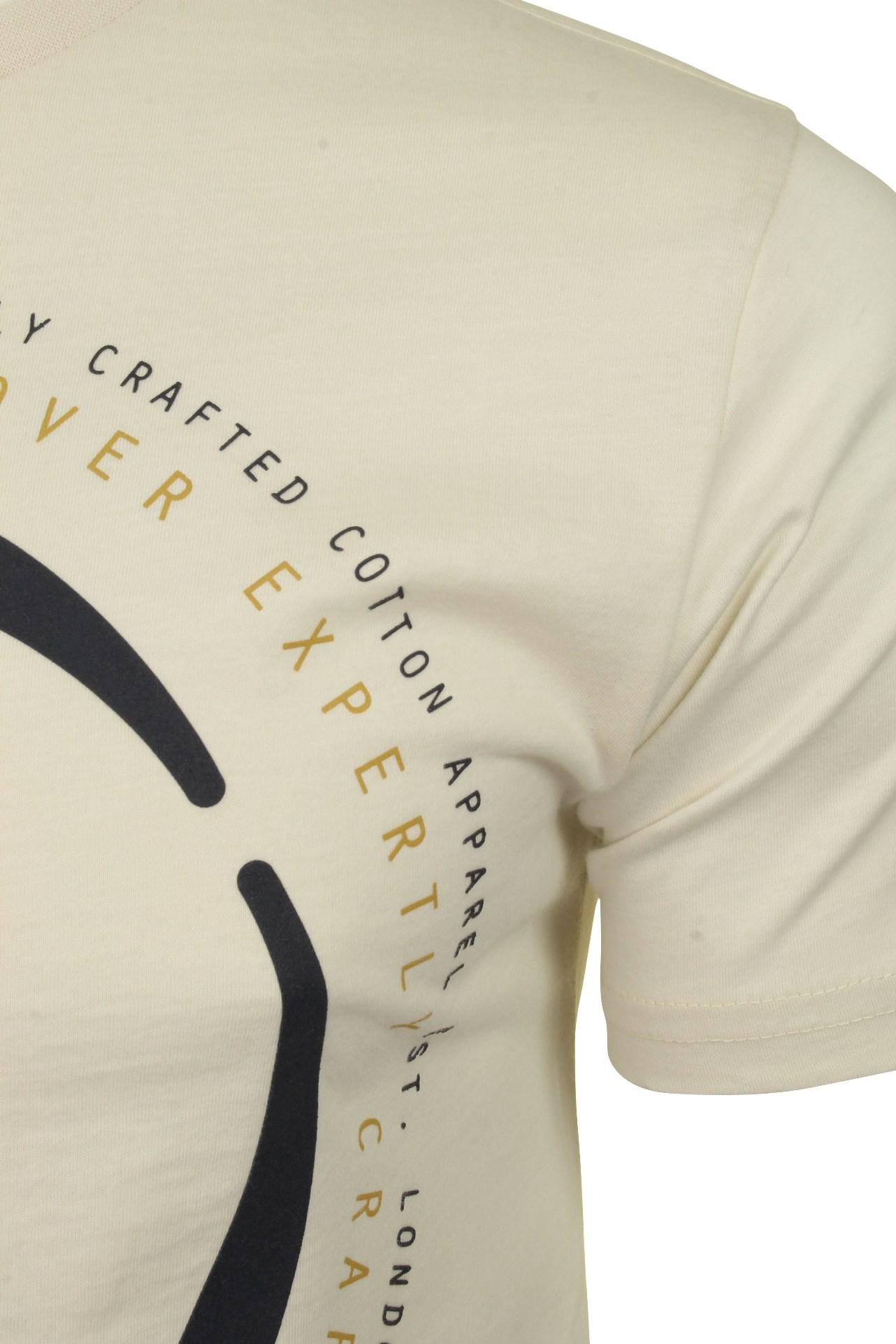 Duck-and-Cover-Hombre-Camiseta-039-Denzel-039 miniatura 7
