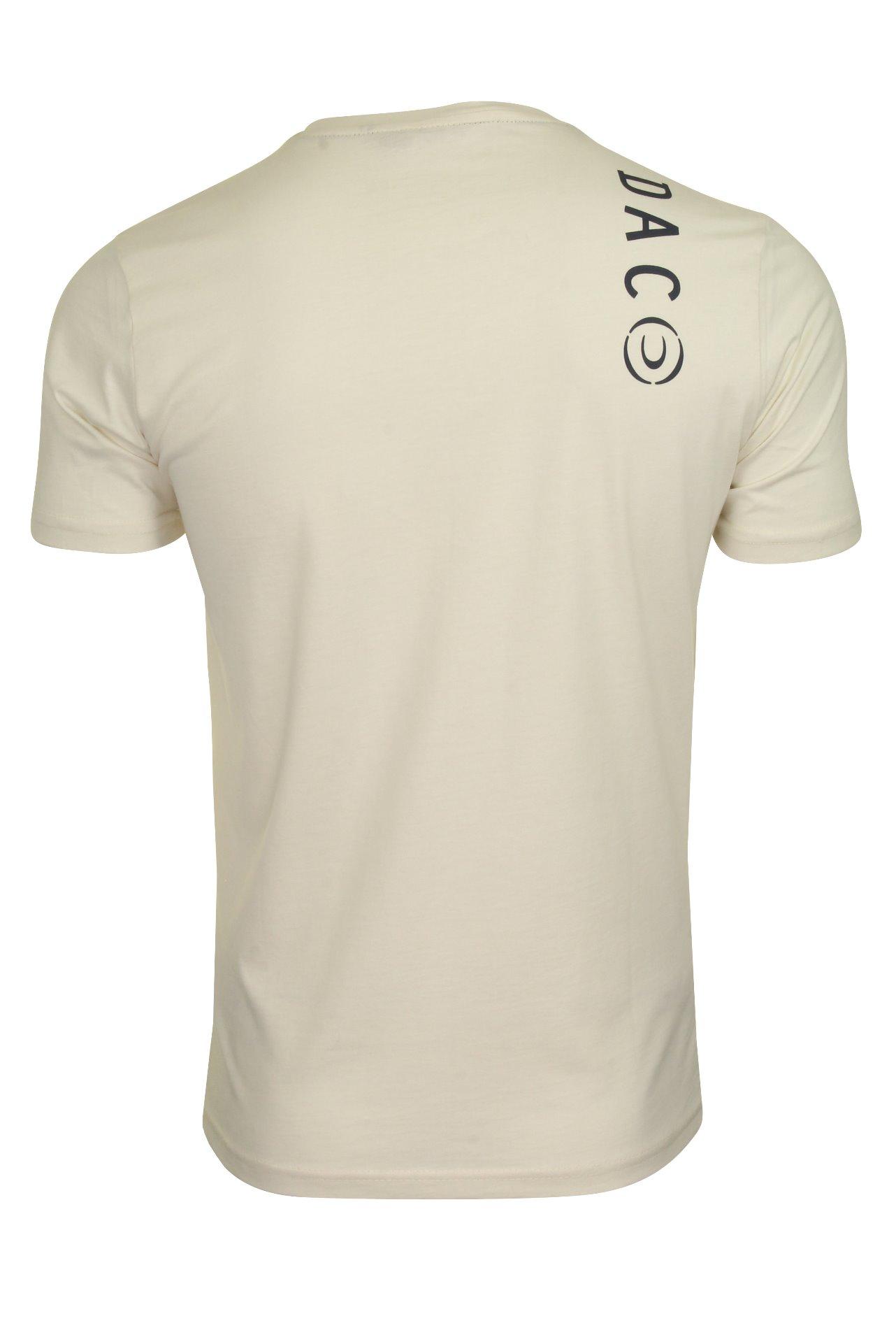 Duck-and-Cover-Hombre-Camiseta-039-Denzel-039 miniatura 8