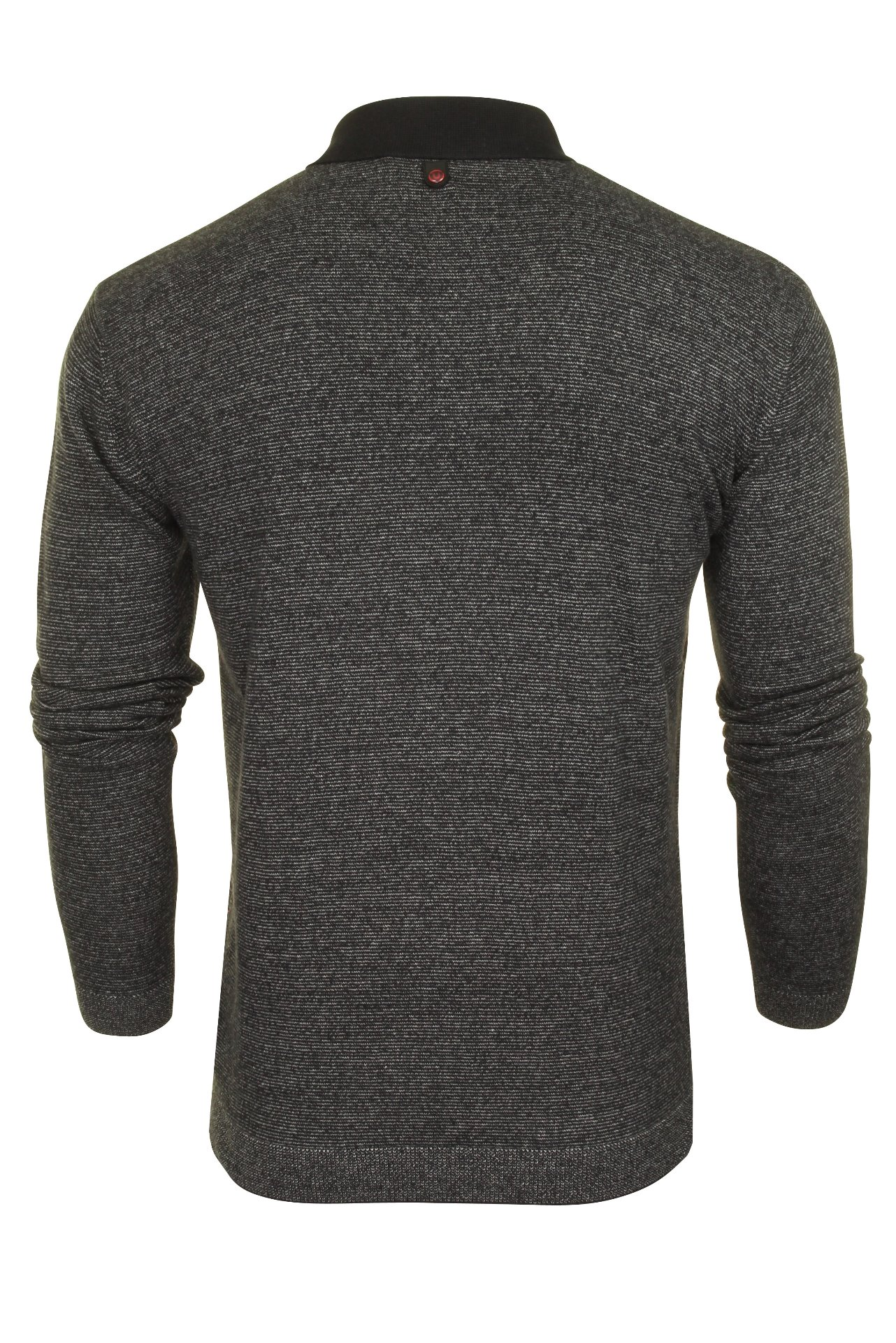 Duck-and-Cover-Mens-039-Cartwright-039-Knitted-Polo-Shirt-Long-Sleeved thumbnail 11