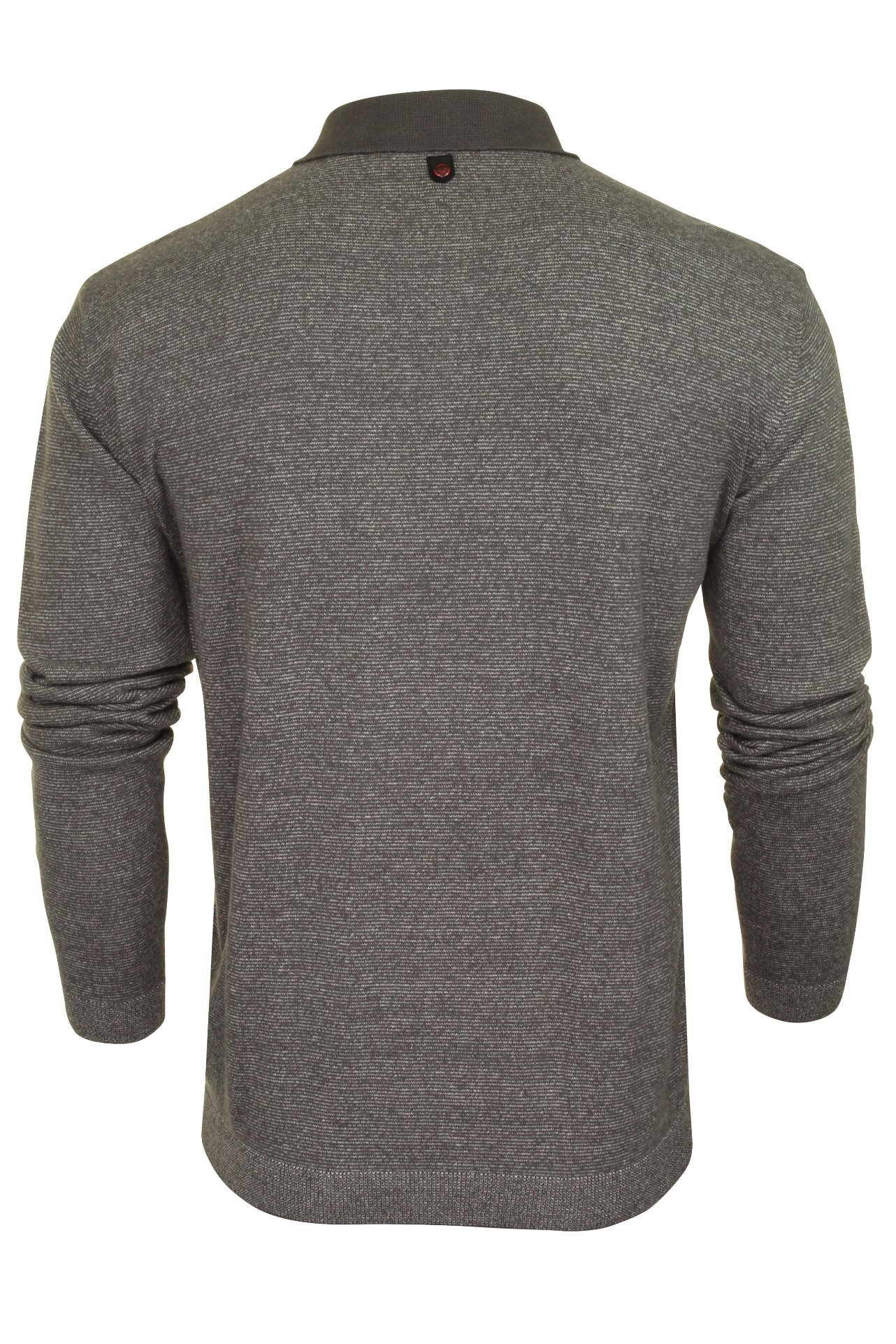 Duck-and-Cover-Mens-039-Cartwright-039-Knitted-Polo-Shirt-Long-Sleeved thumbnail 5