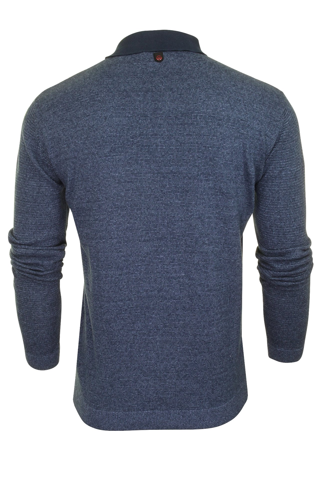 Duck-and-Cover-Mens-039-Cartwright-039-Knitted-Polo-Shirt-Long-Sleeved thumbnail 8