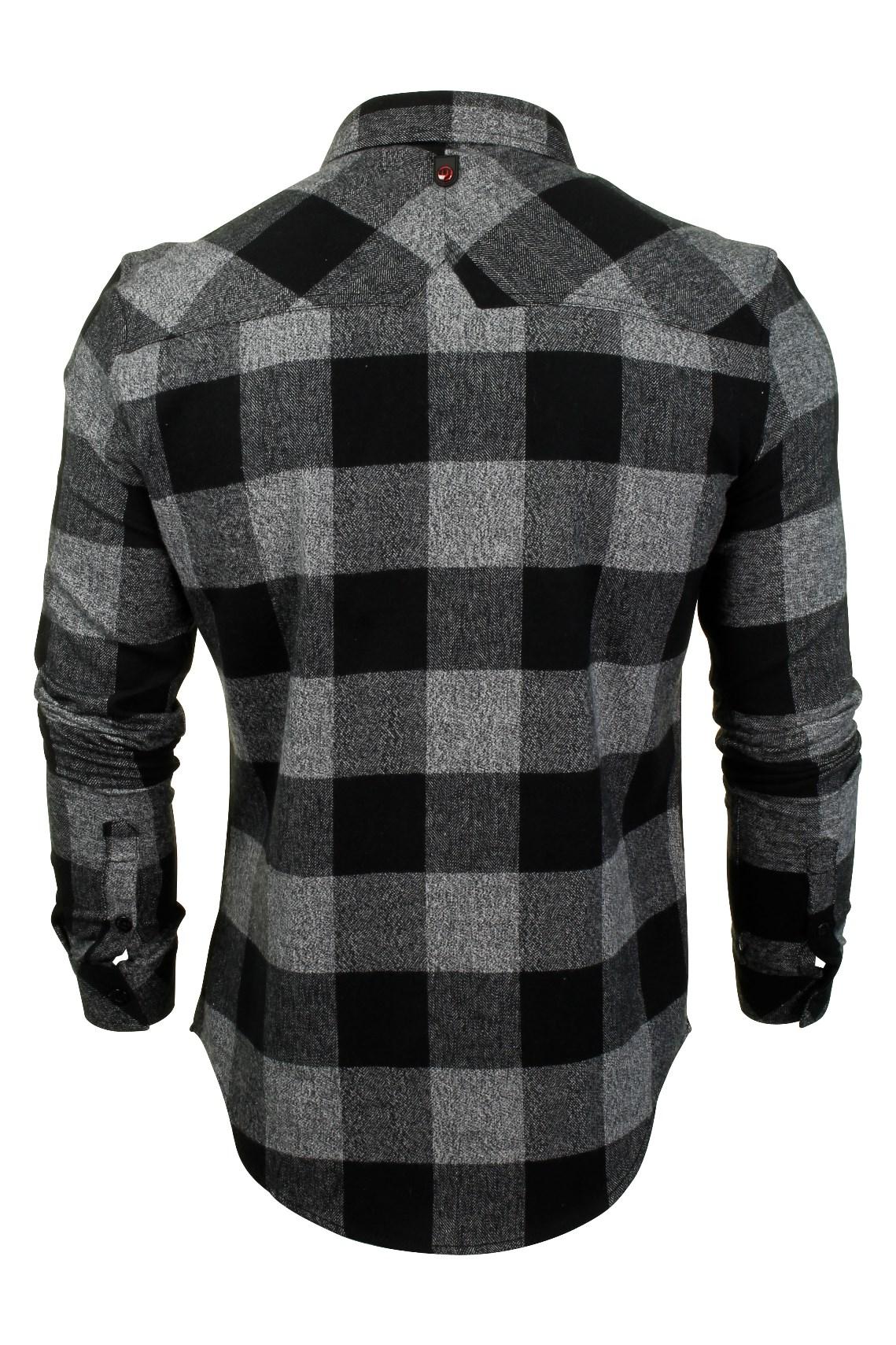 Para-Hombre-Franela-compruebe-Camisa-por-Pato-Y-Cubierta-039-Chapman-039 miniatura 5