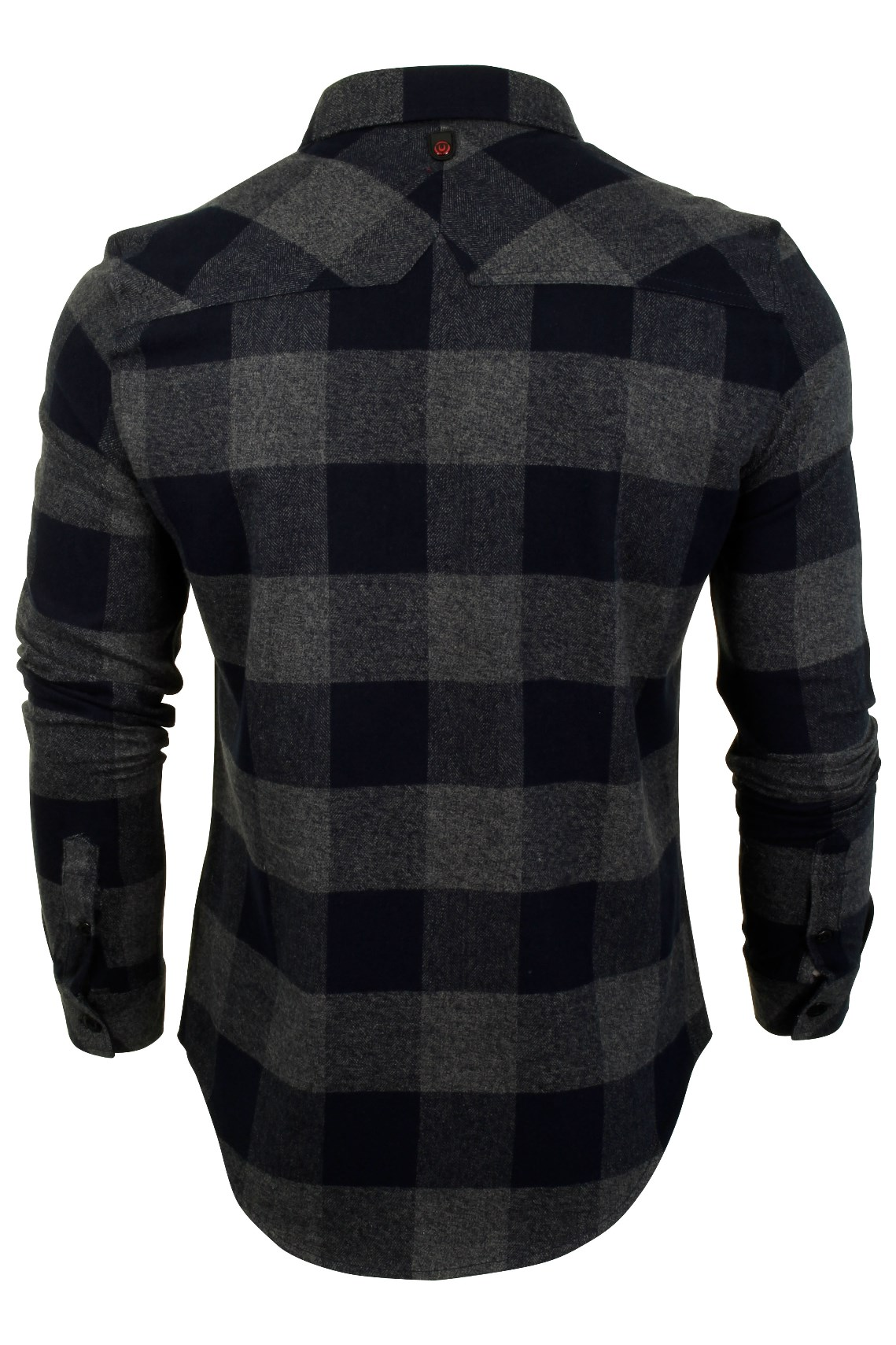 Para-Hombre-Franela-compruebe-Camisa-por-Pato-Y-Cubierta-039-Chapman-039 miniatura 8