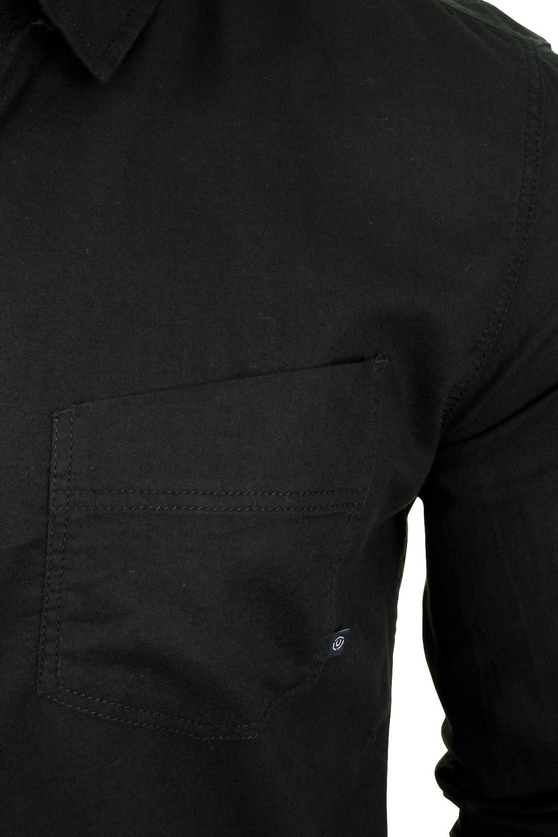 Para-Hombre-Franela-Camisa-por-Pato-Y-Cubierta-039-Katlego-039-Manga-Larga miniatura 4