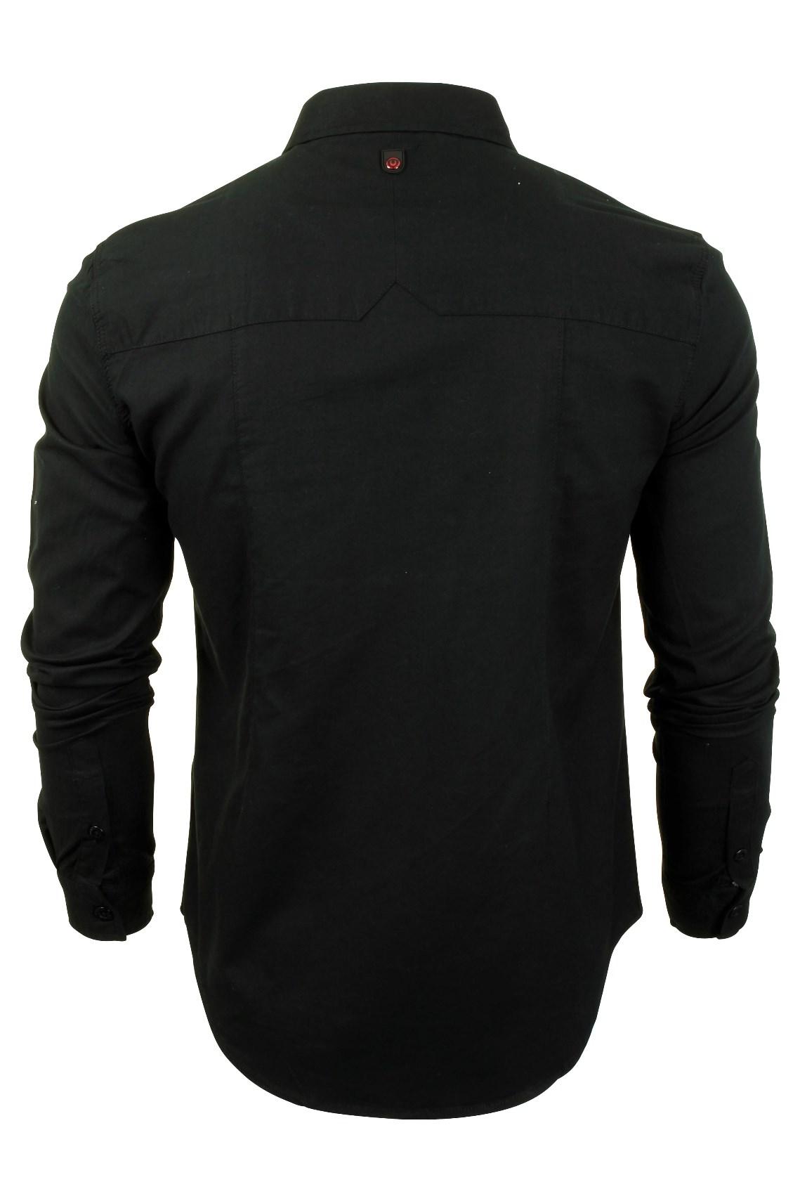 Para-Hombre-Franela-Camisa-por-Pato-Y-Cubierta-039-Katlego-039-Manga-Larga miniatura 5