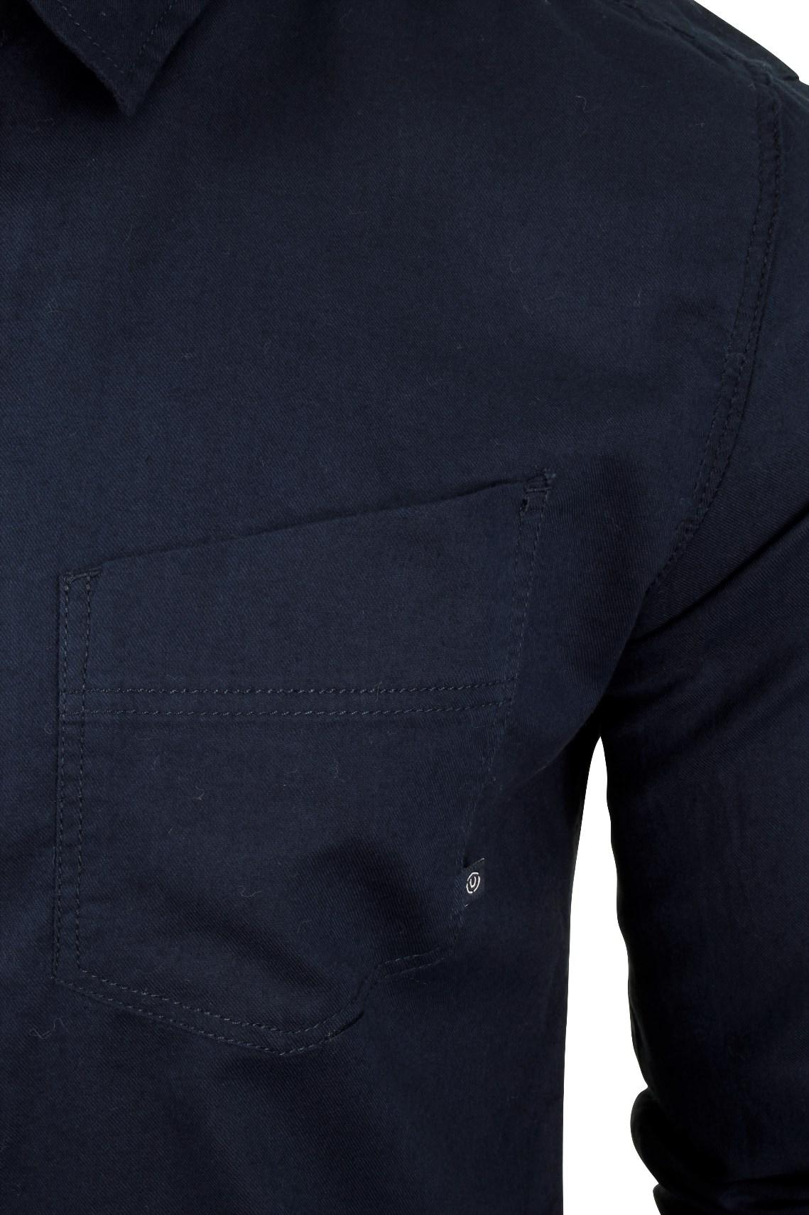 Para-Hombre-Franela-Camisa-por-Pato-Y-Cubierta-039-Katlego-039-Manga-Larga miniatura 10
