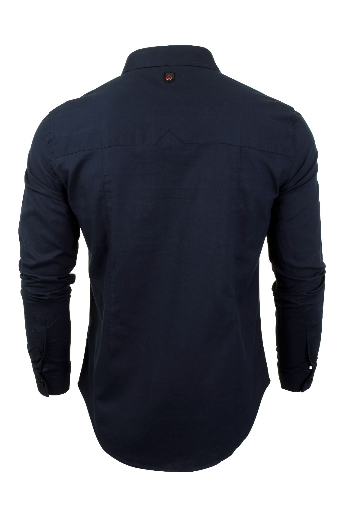 Para-Hombre-Franela-Camisa-por-Pato-Y-Cubierta-039-Katlego-039-Manga-Larga miniatura 11