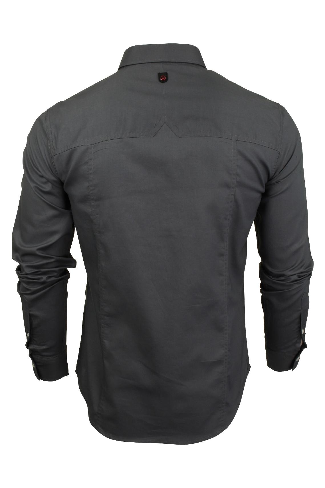 Para-hombres-camisa-de-manga-larga-por-Pato-Y-Cubierta-039-abedul-039 miniatura 5