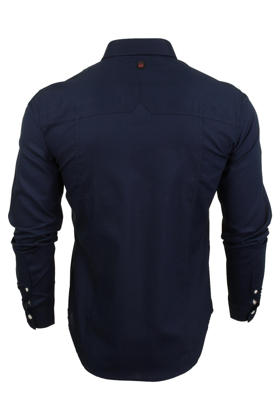 Para-hombres-camisa-de-manga-larga-por-Pato-Y-Cubierta-039-abedul-039 miniatura 8