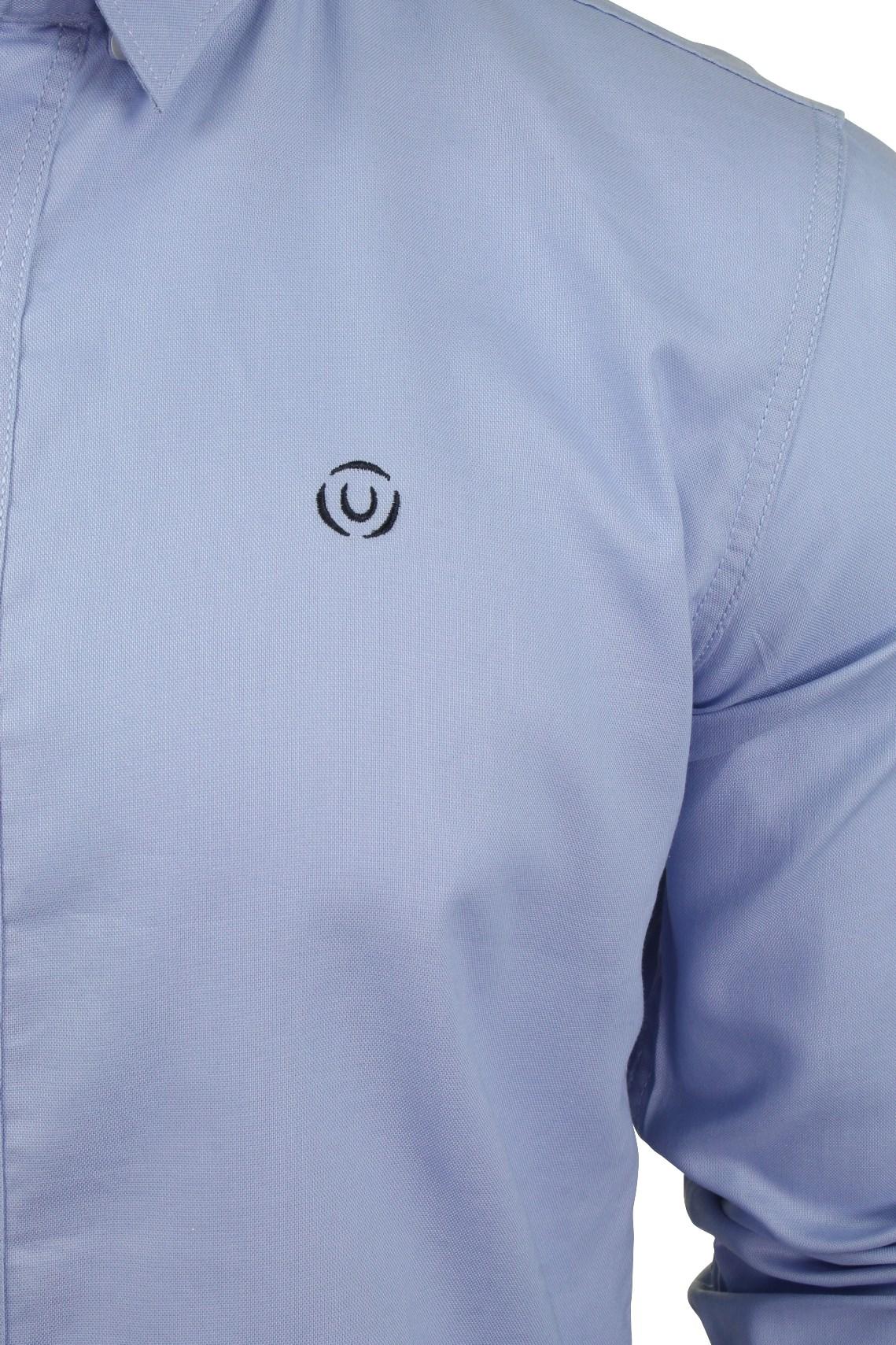 Para-hombres-camisa-de-manga-larga-por-Pato-Y-Cubierta-039-abedul-039 miniatura 10