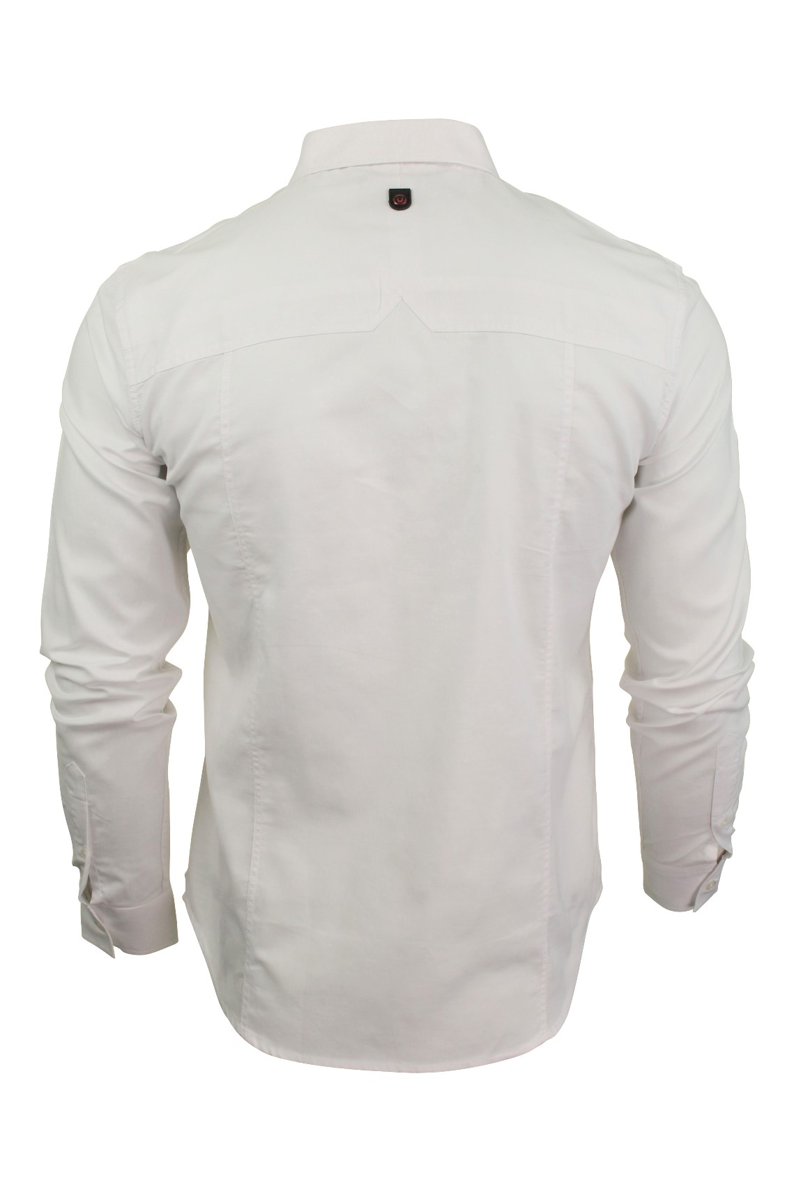 Para-hombres-camisa-de-manga-larga-por-Pato-Y-Cubierta-039-abedul-039 miniatura 14