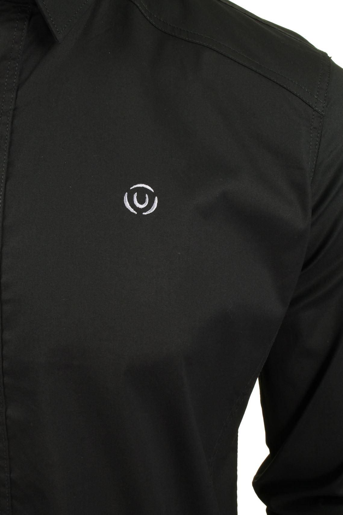 Para-Hombres-Camisa-Manga-Larga-Popelin-del-estiramiento-por-Pato-Y-Cubierta-039-raginald-039 miniatura 4