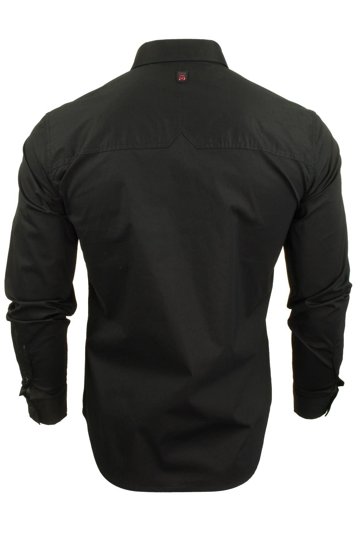 Para-Hombres-Camisa-Manga-Larga-Popelin-del-estiramiento-por-Pato-Y-Cubierta-039-raginald-039 miniatura 5