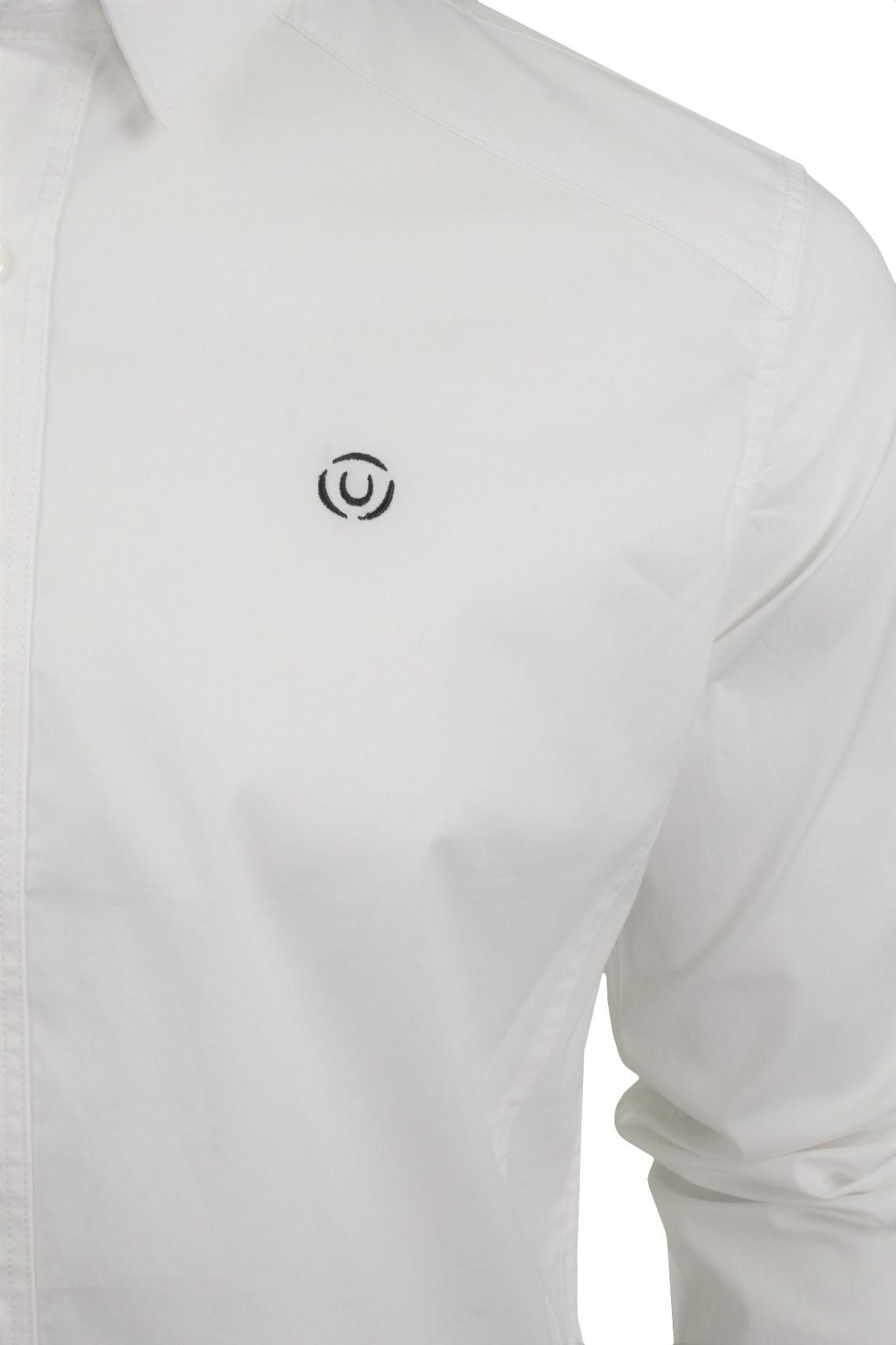 Para-Hombres-Camisa-Manga-Larga-Popelin-del-estiramiento-por-Pato-Y-Cubierta-039-raginald-039 miniatura 10